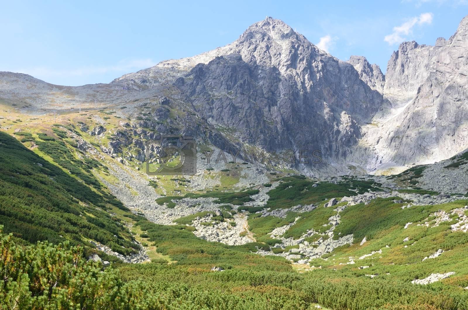 Tatra Mountains in Slovakia  Lomnicky stit
