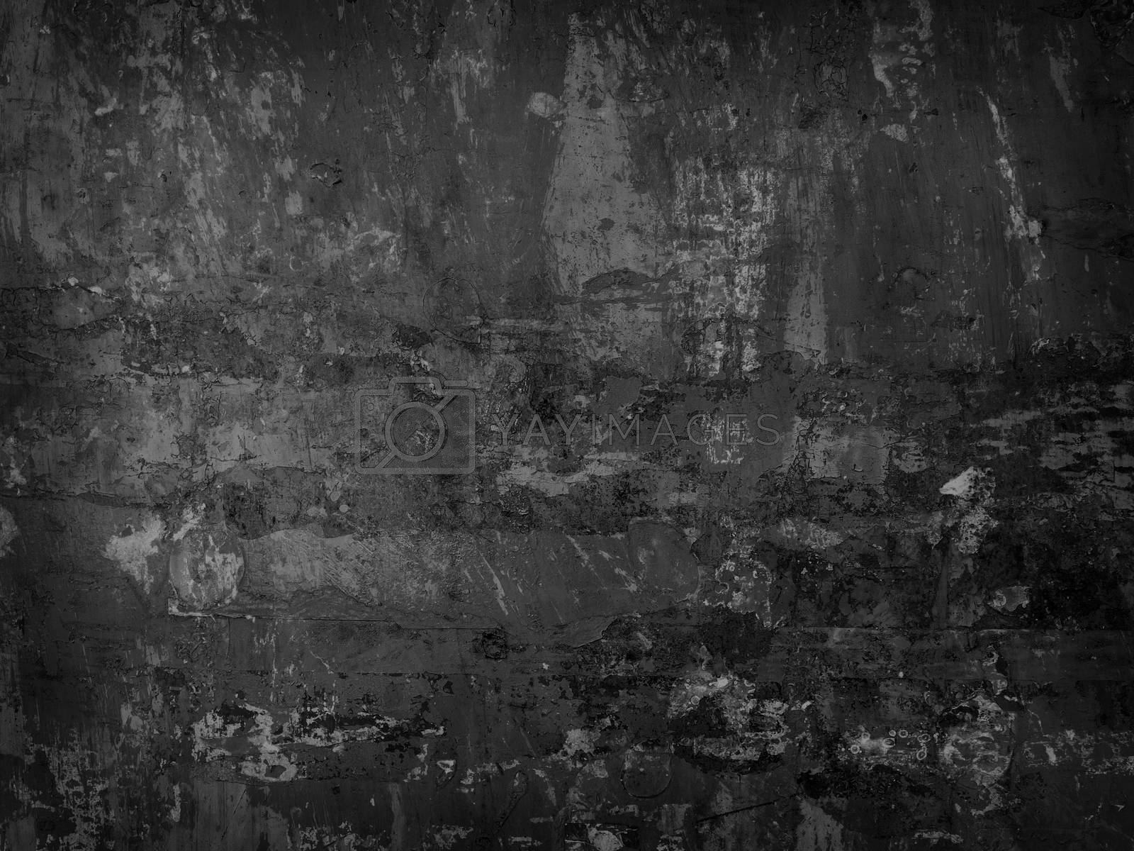 grungy texture of old metal wall