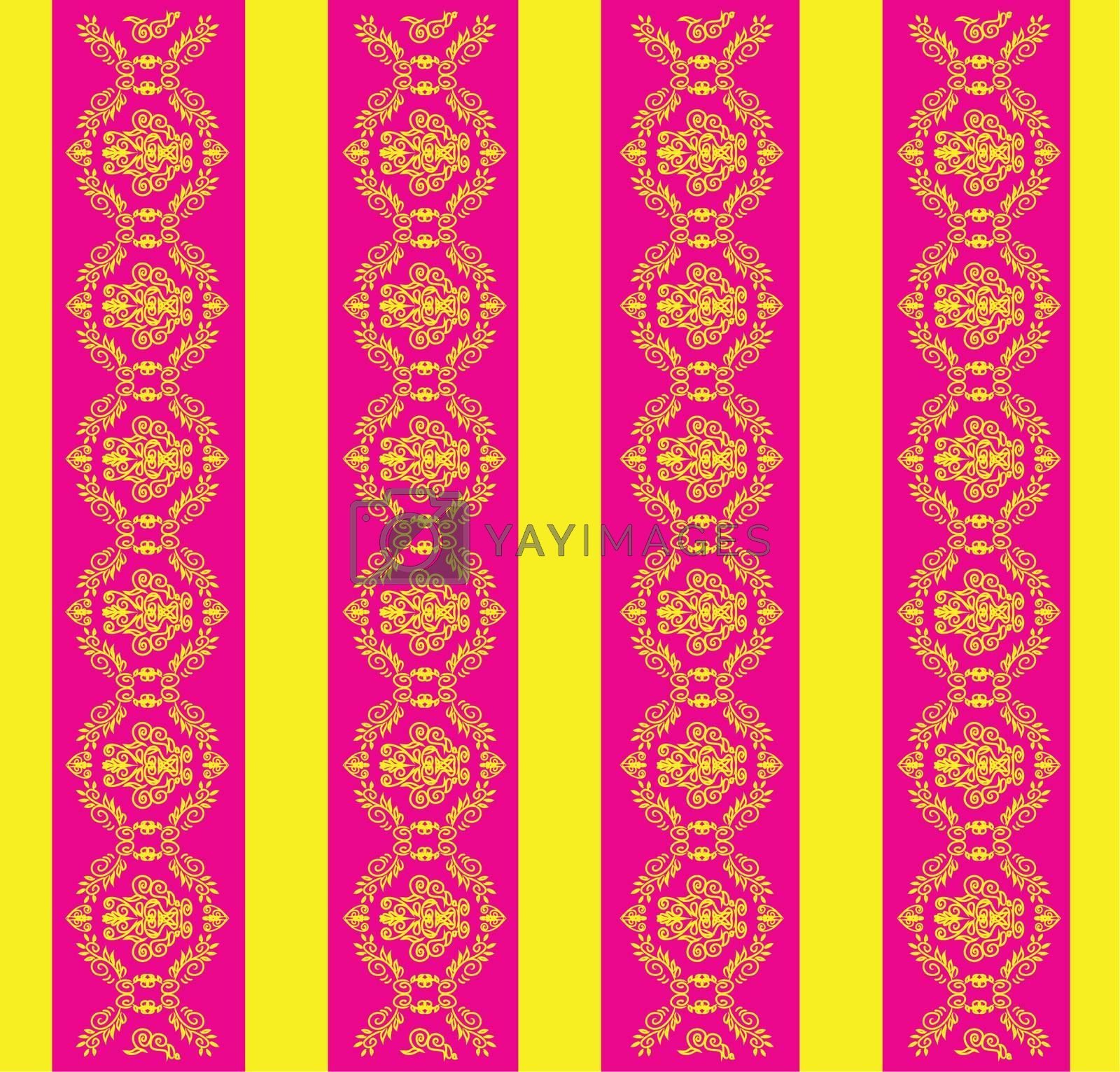 Abstract seamless pattern template illustration