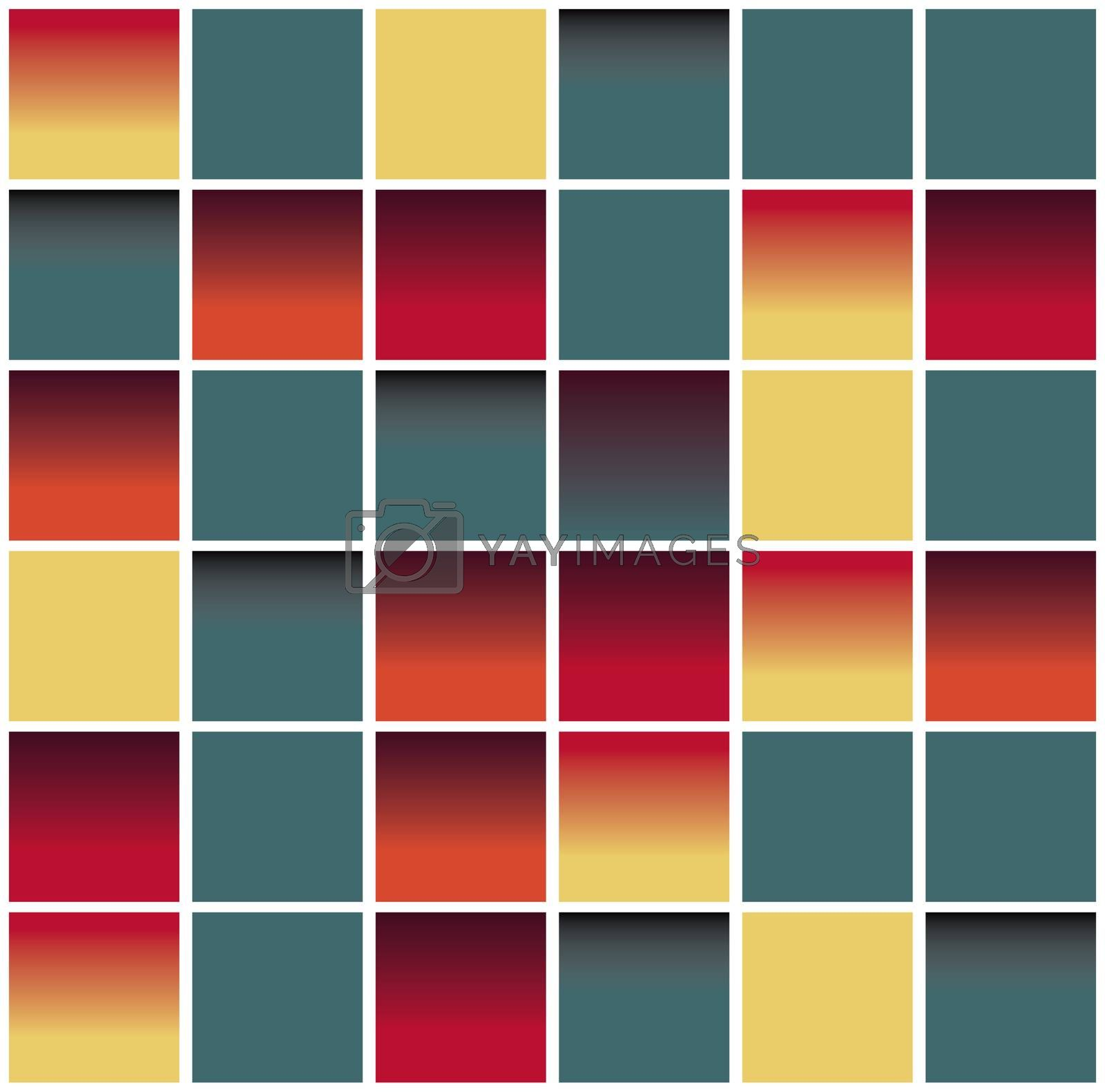 vector seamless blocks structure background