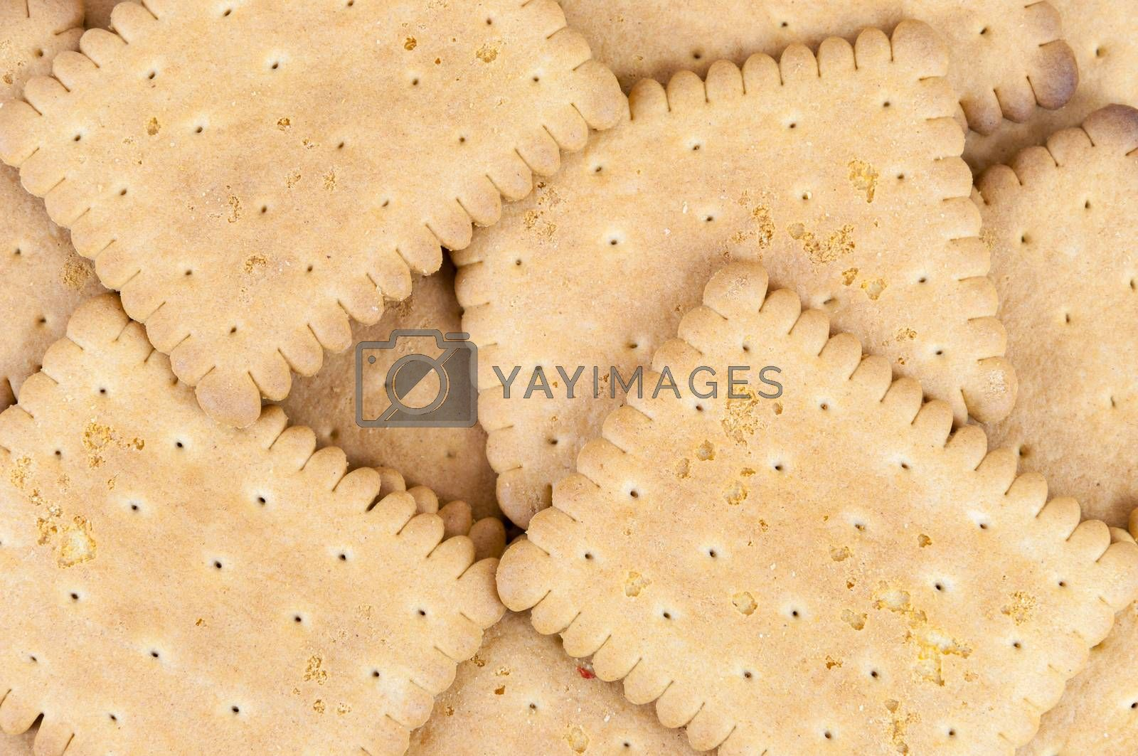 Royalty free image of Biscuits background by mkos83