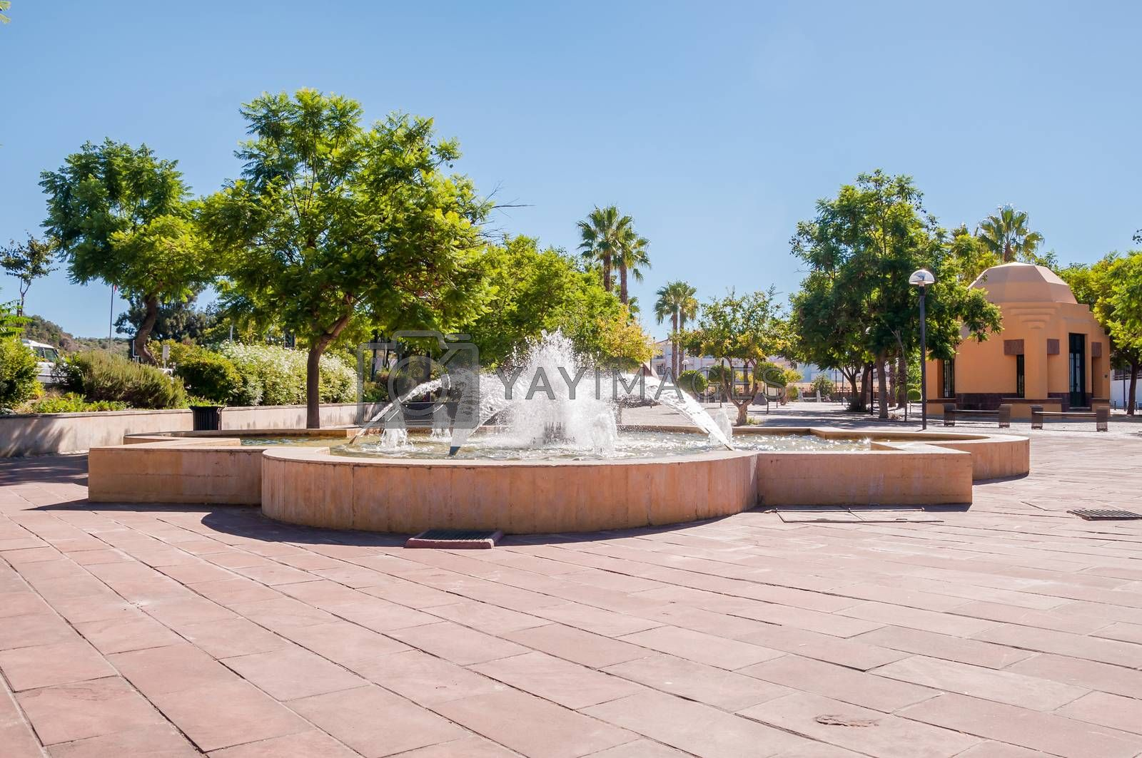 Royalty free image of Fountain in Silves  by mkos83