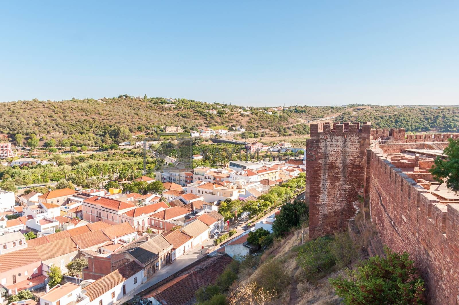 Royalty free image of Panorama of Silves in Portugal by mkos83