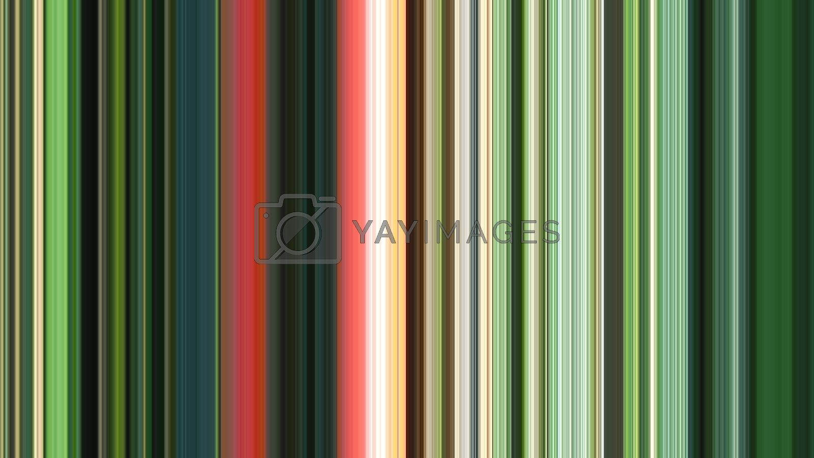 Royalty free image of abstract green stripes by CherJu
