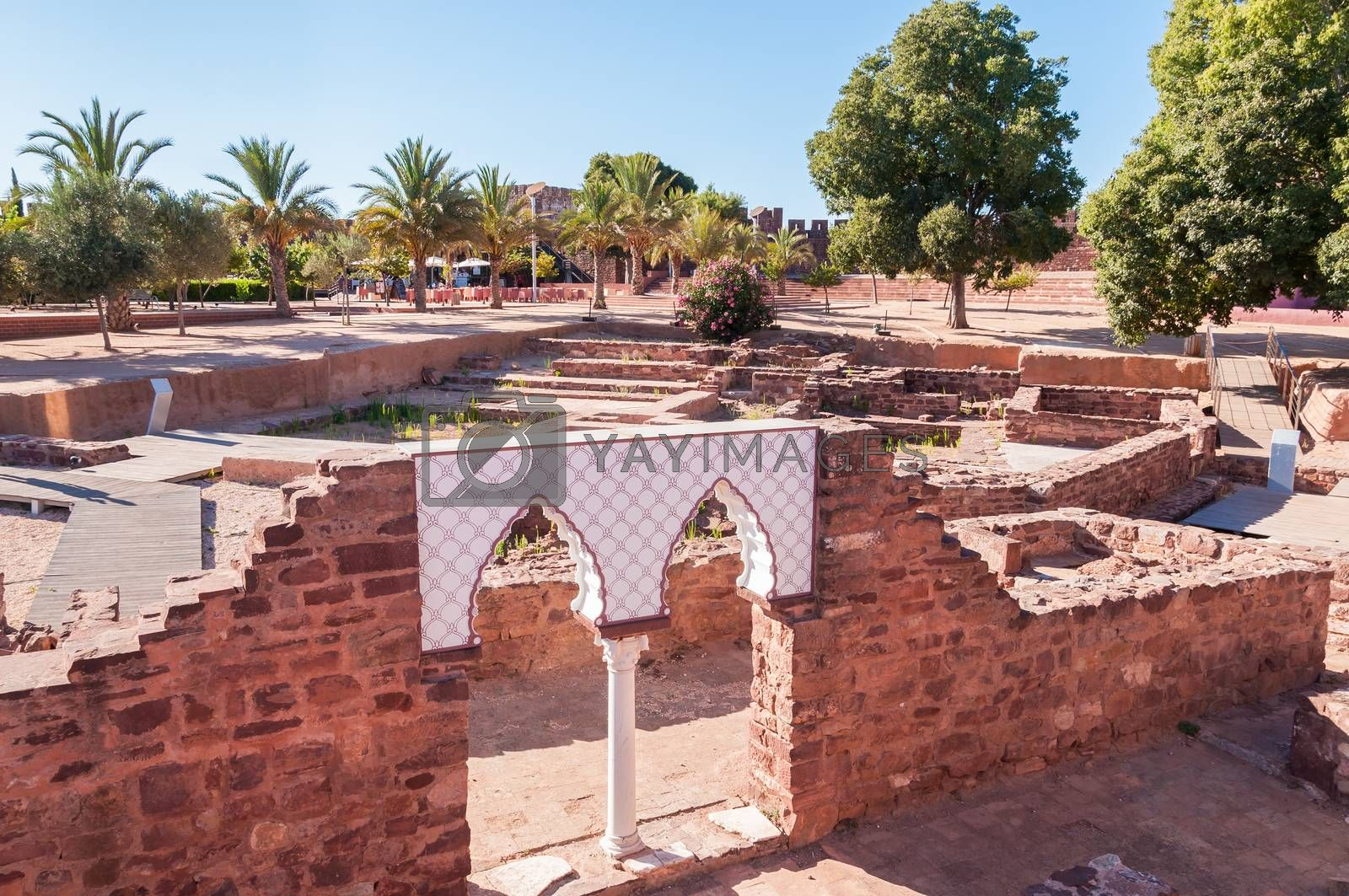 Ancient castle in Silves by mkos83