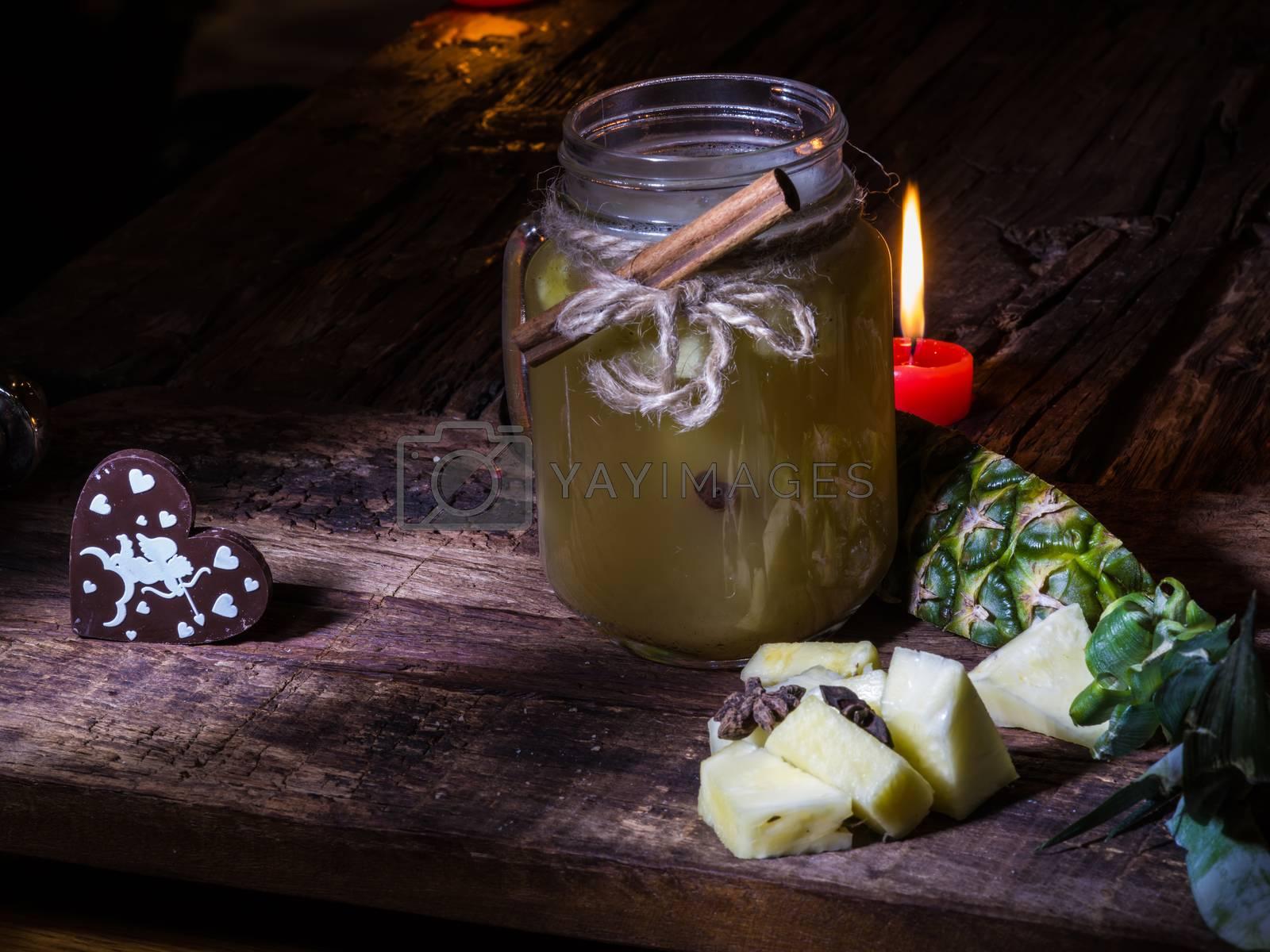 green pineapple tea by sarymsakov