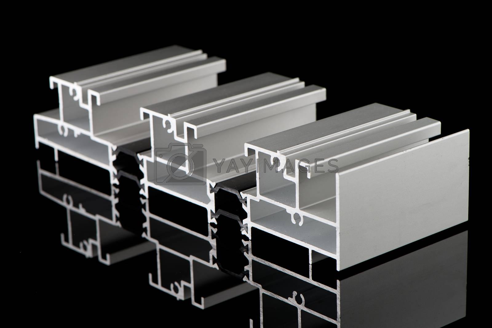 Aluminium profile sample by homydesign