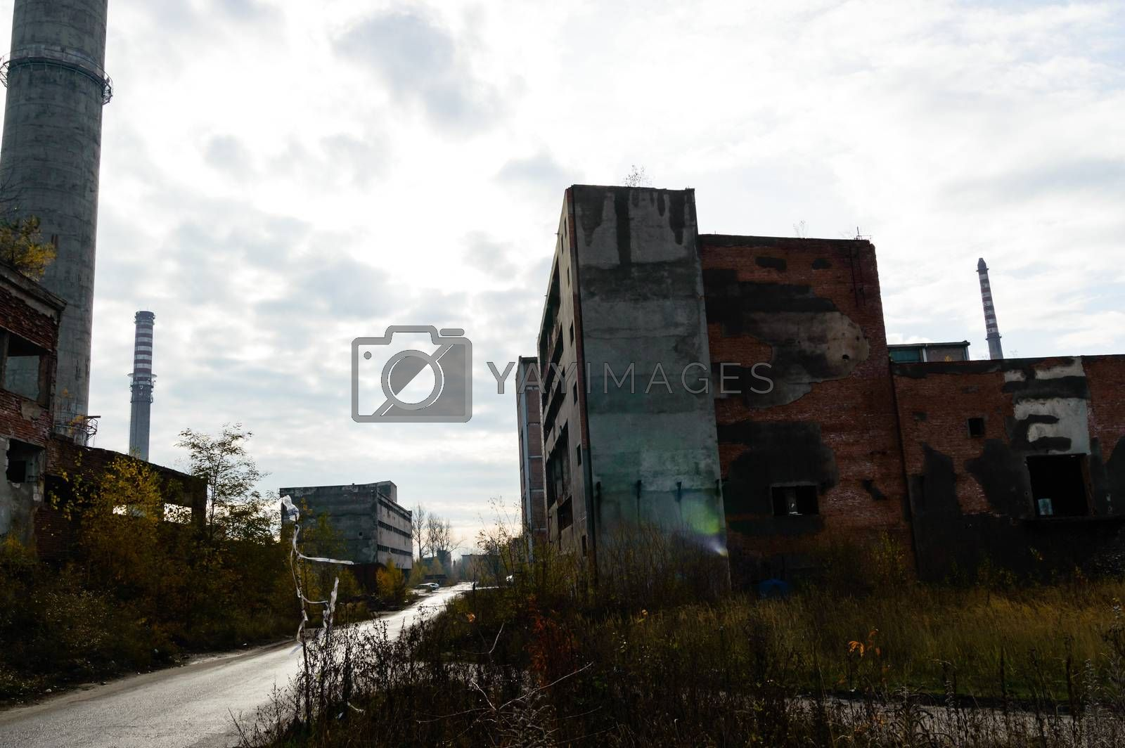 Royalty free image of factory by TSpider