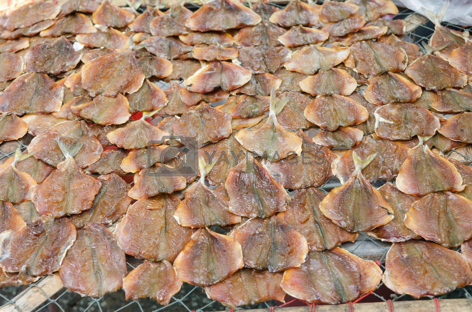 Royalty free image of Dried fish. by nikonlike