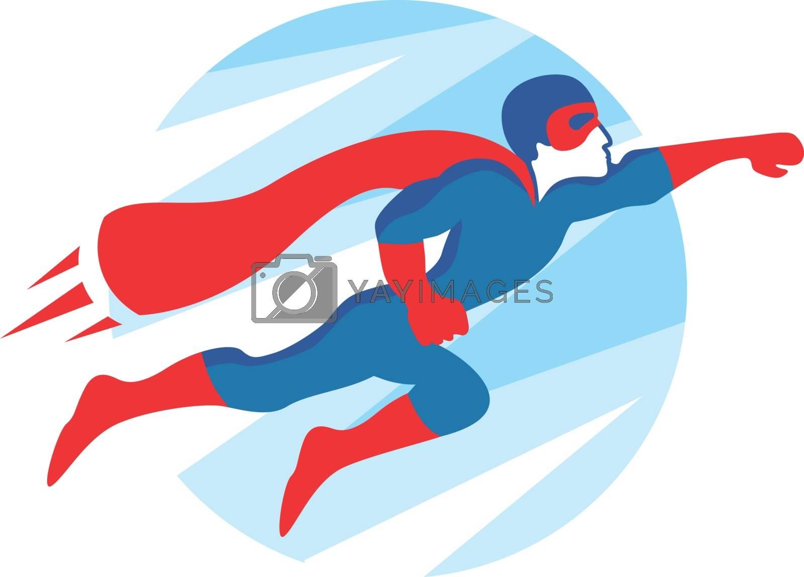 Royalty free image of Superhero Icon by kisika