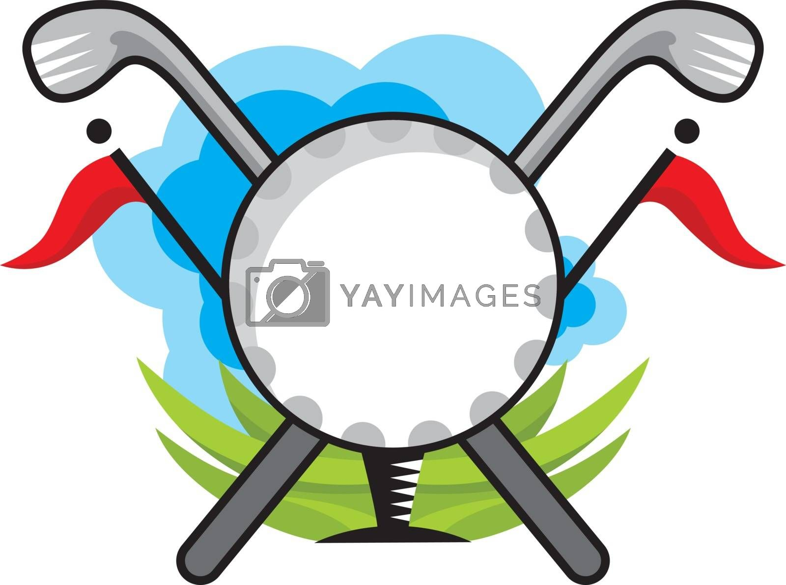 Royalty free image of Golf illustration  by kisika