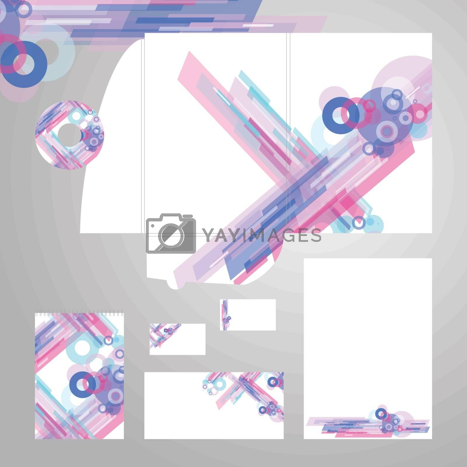 Royalty free image of Corporate Identity Template Vector by kisika