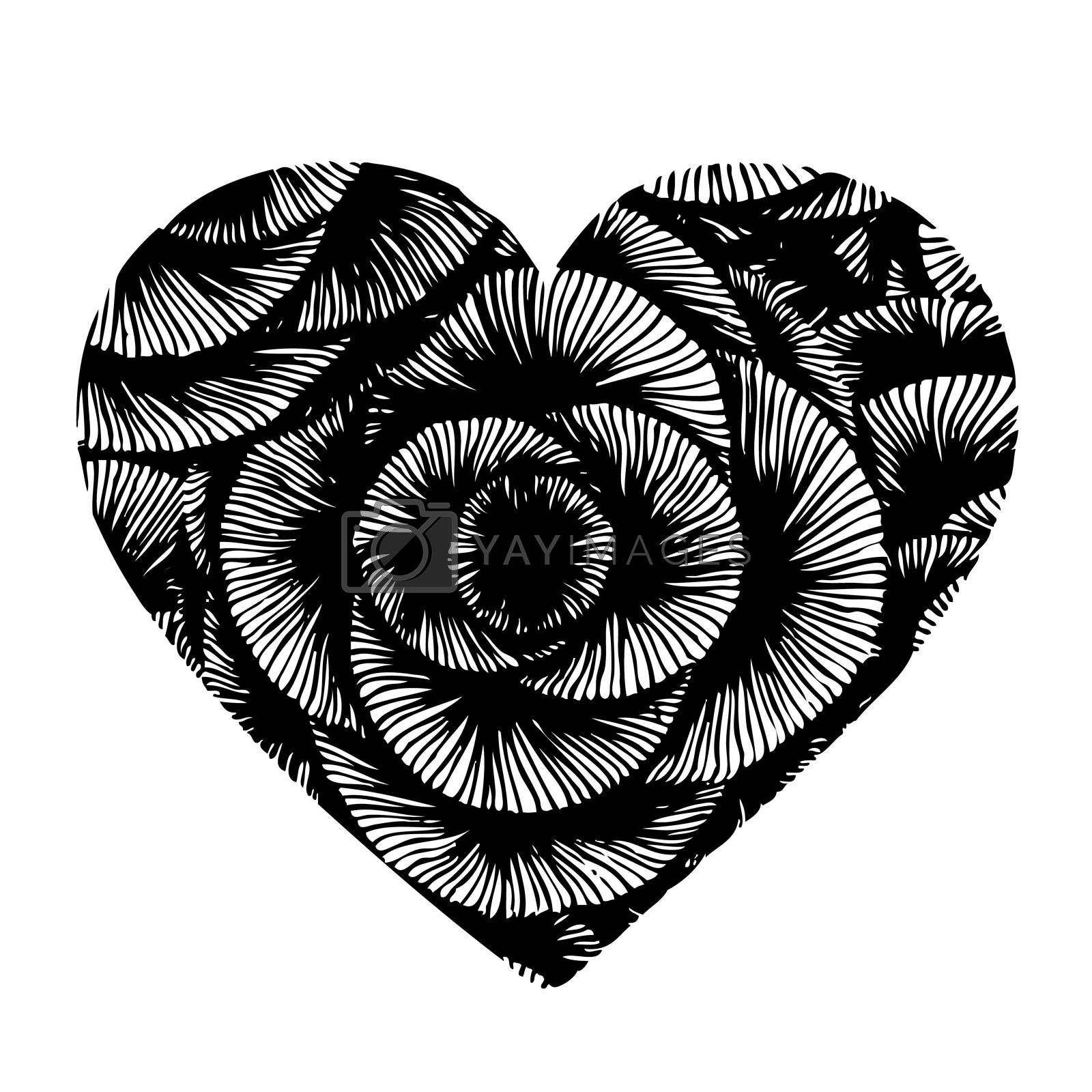 Royalty free image of heart design by simpleBE