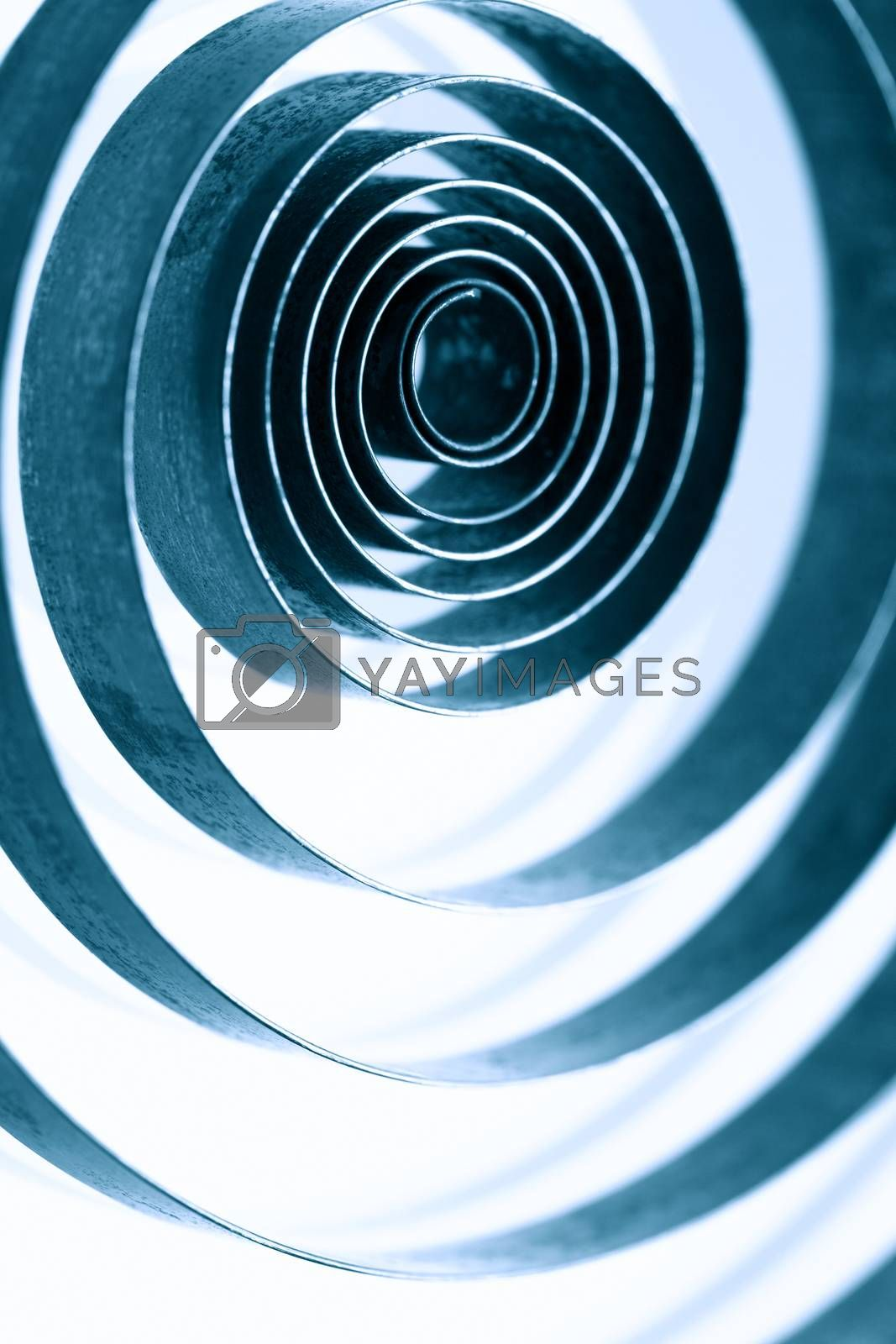 Royalty free image of Spirals Concept Abstract by kvkirillov