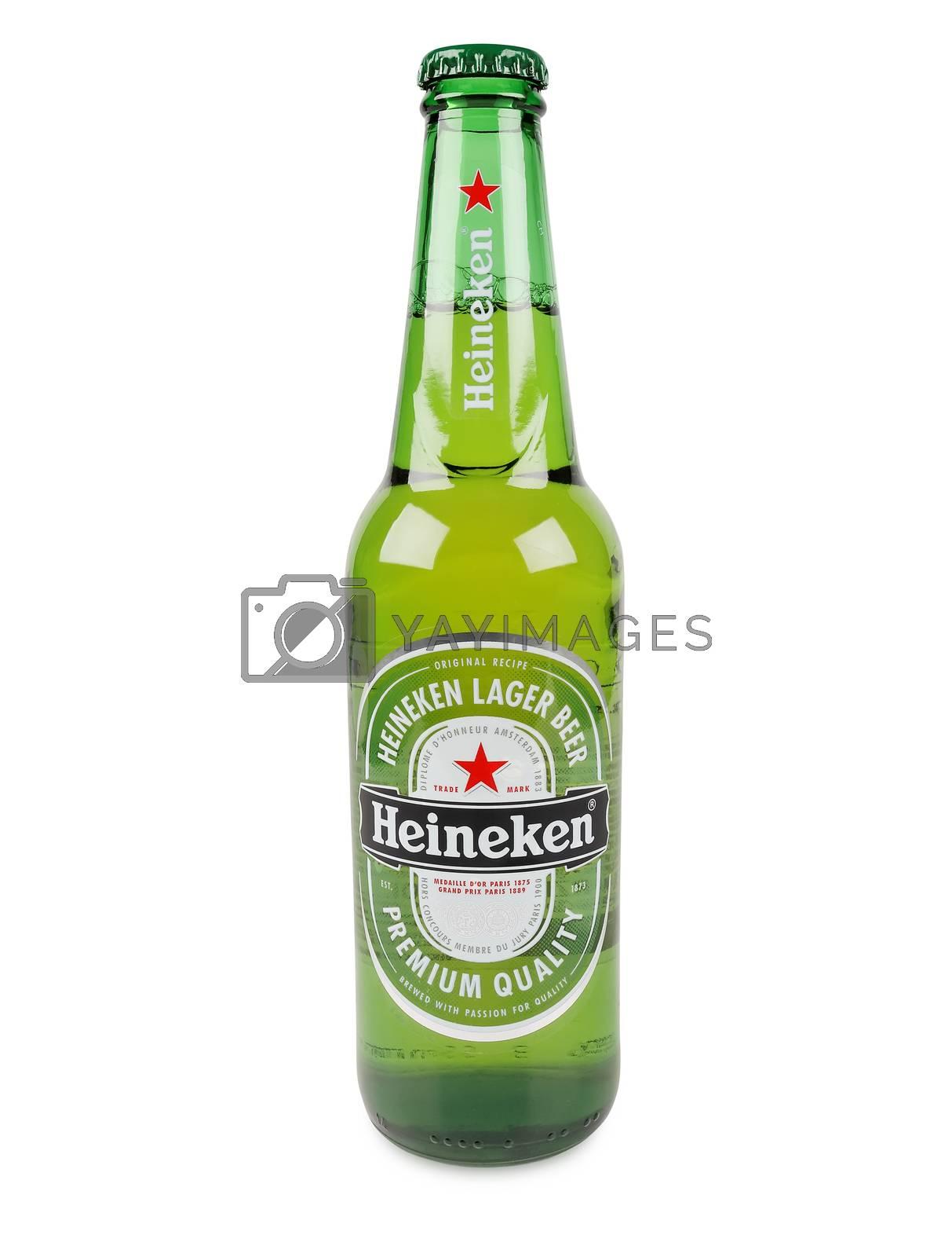 Royalty free image of Heineken bottle beer by sewer12