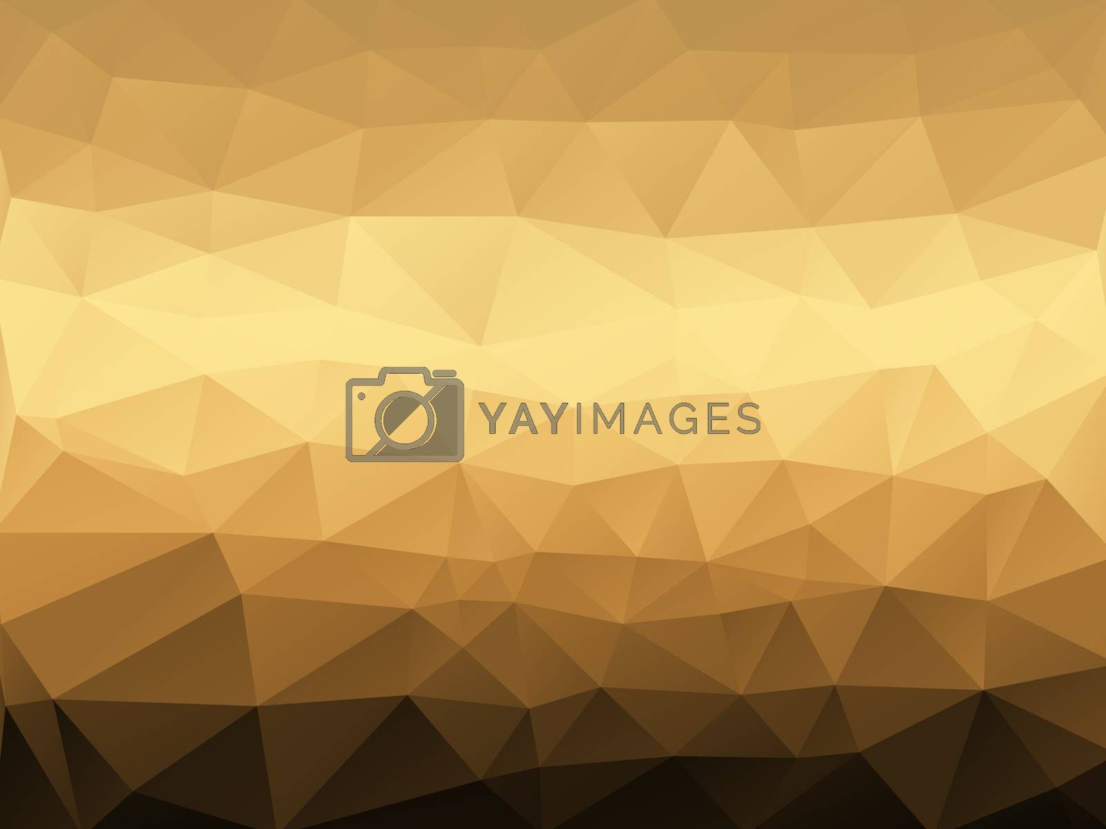 Royalty free image of Abstract low poly background, geometry triangle by teerawit