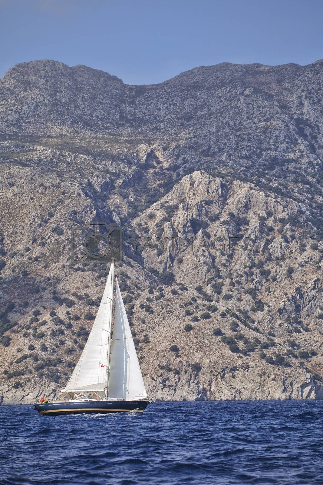 Royalty free image of Yachting in Turkey by Goodday