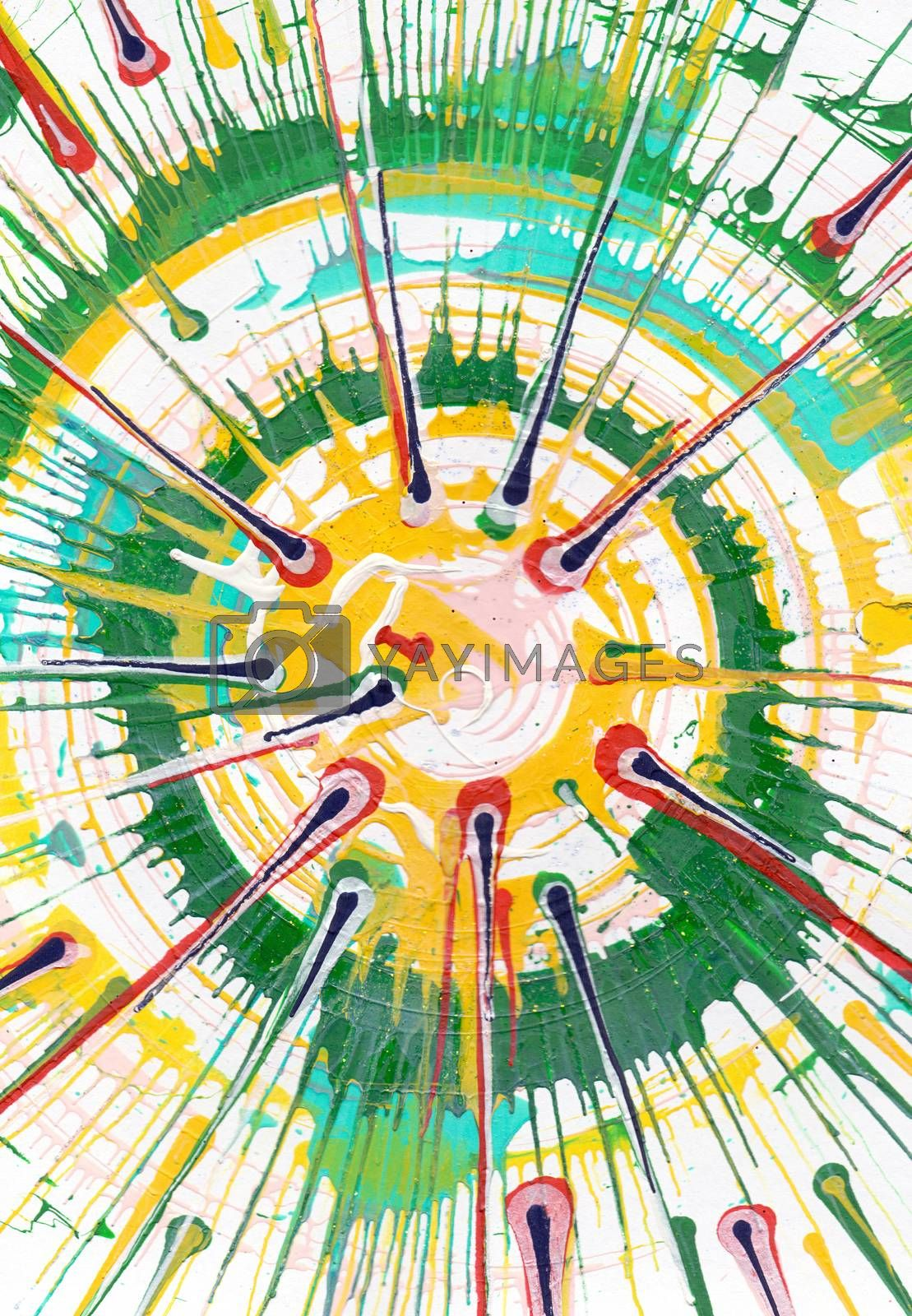 Royalty free image of Abstract Expressionism Painting  by kisika