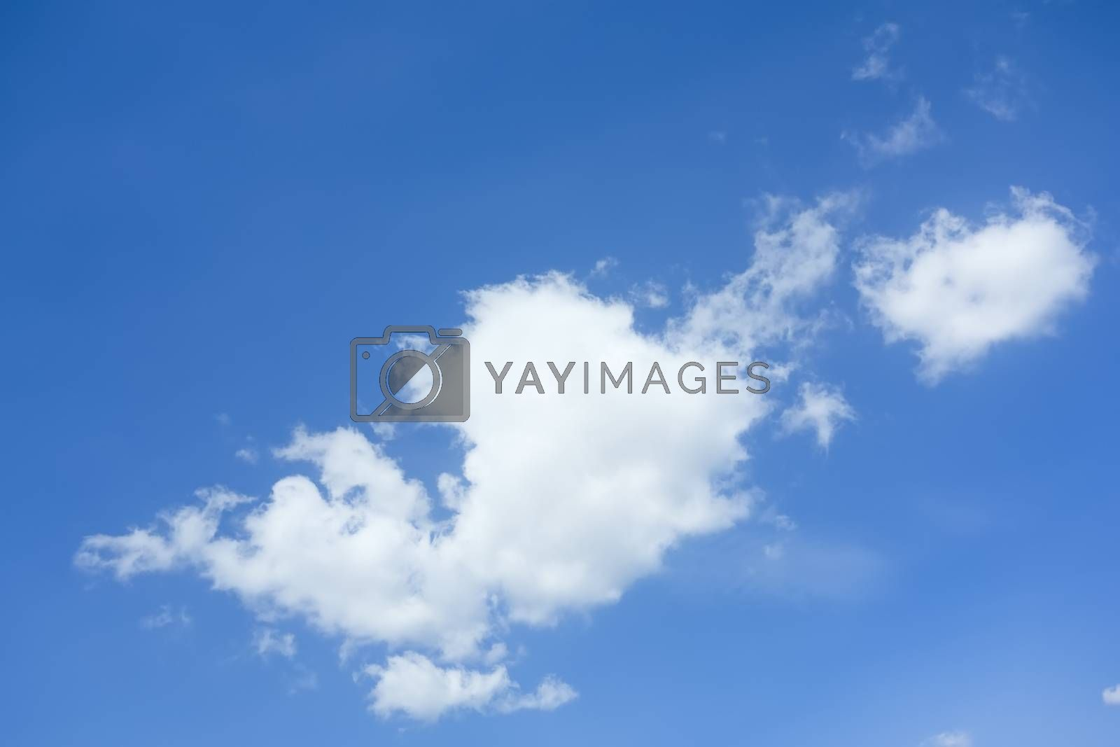 Royalty free image of blue sky with clouds by magann