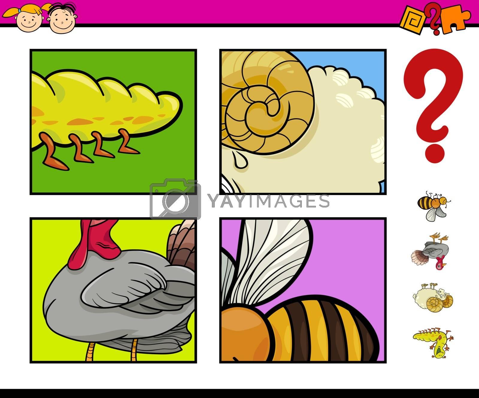 educational game with animals by izakowski