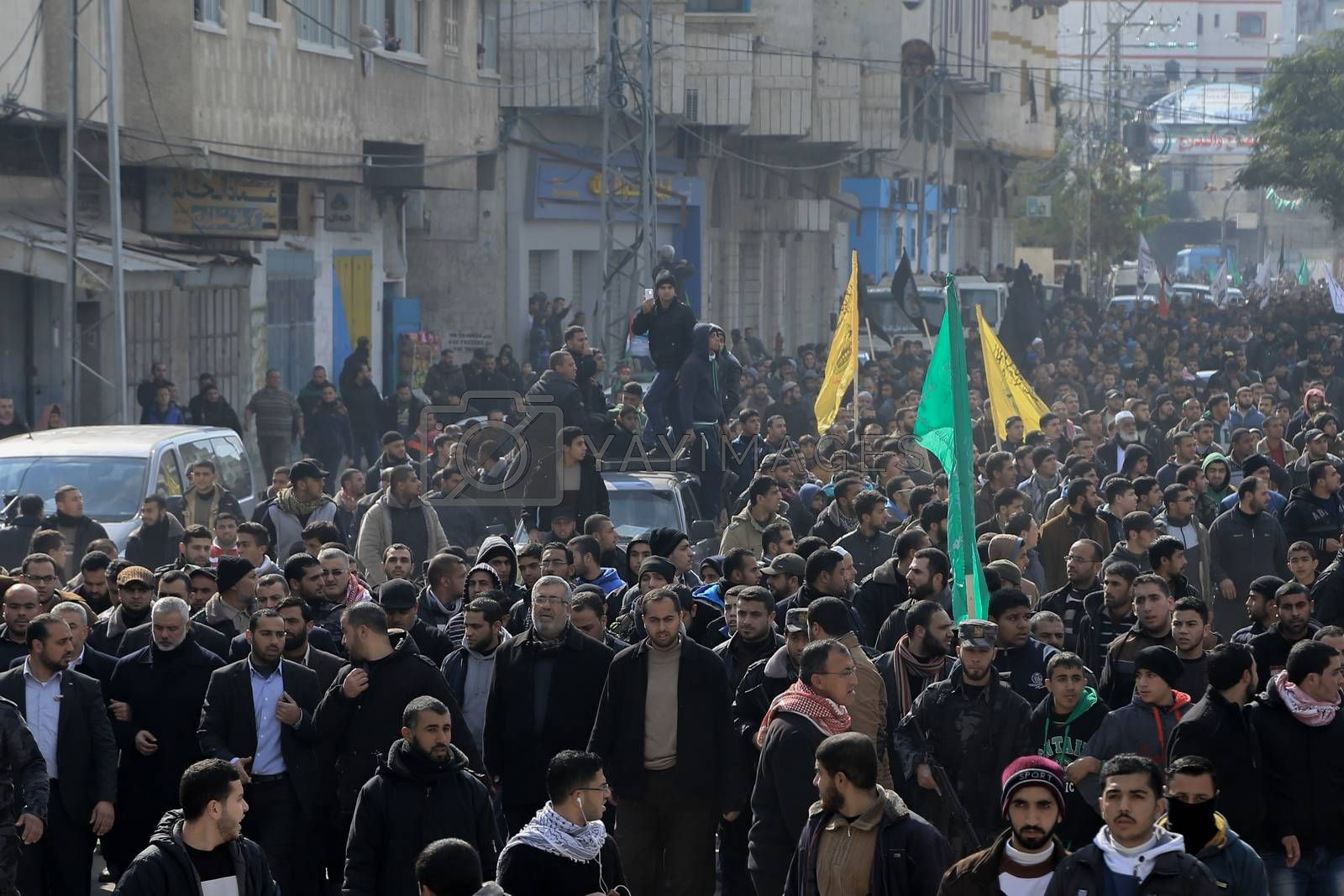 Royalty free image of GAZA STRIP-GAZA-HAMAS-FUNERAL-ISRAEL-CONFLICT by newzulu