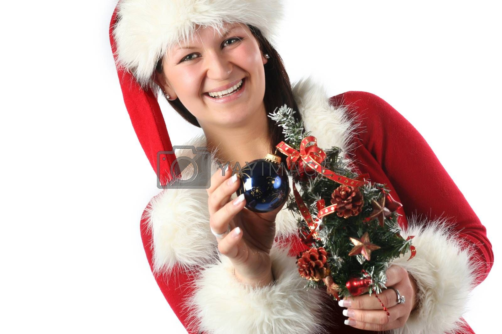 Nice Santa Claus's girl