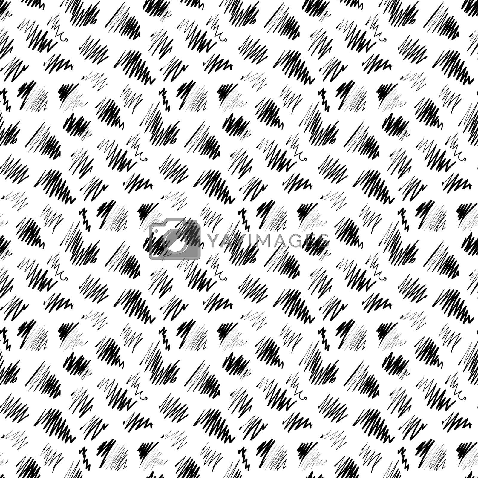 Imitation ink plain background hand drawn, seamless pattern