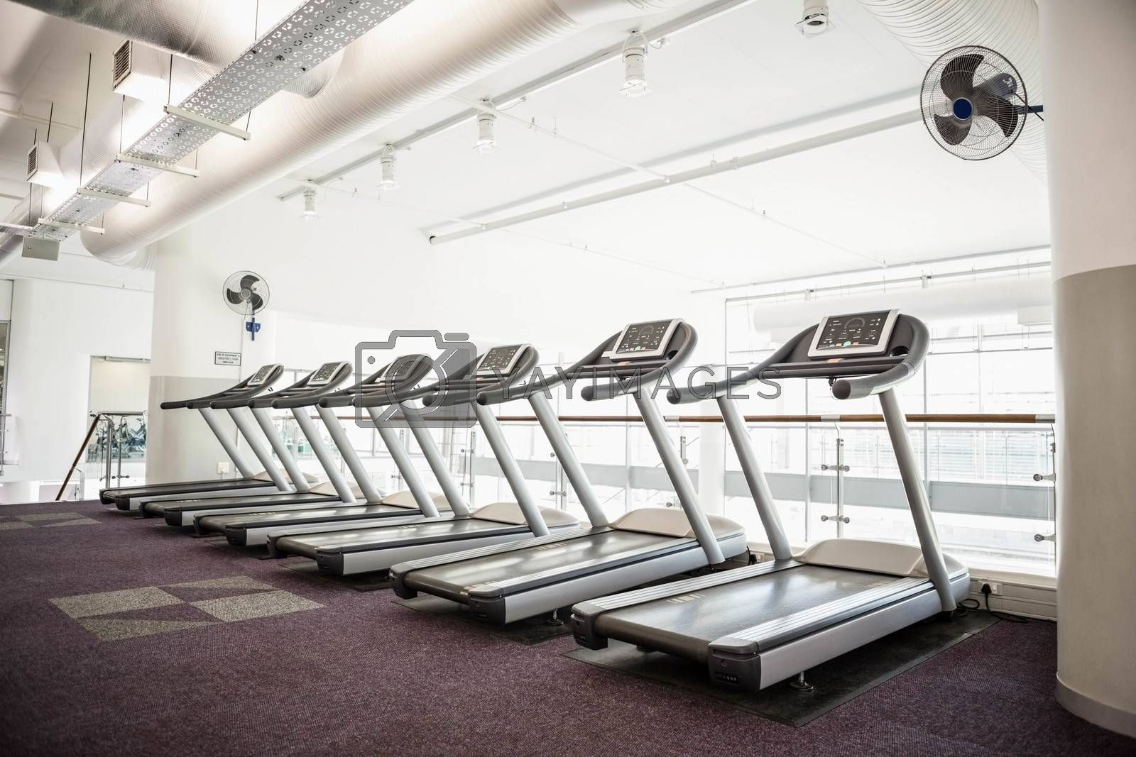 Gym with no people by Wavebreakmedia