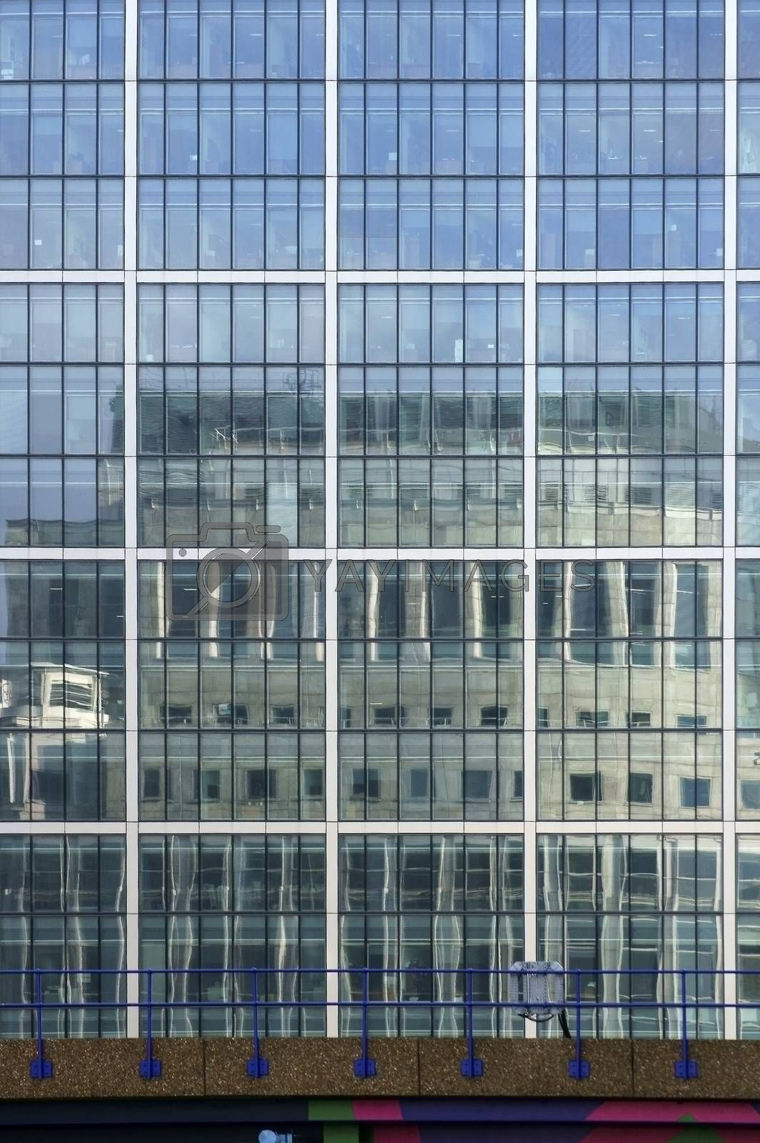 Royalty free image of Reflecting skyscraper facade by ginton