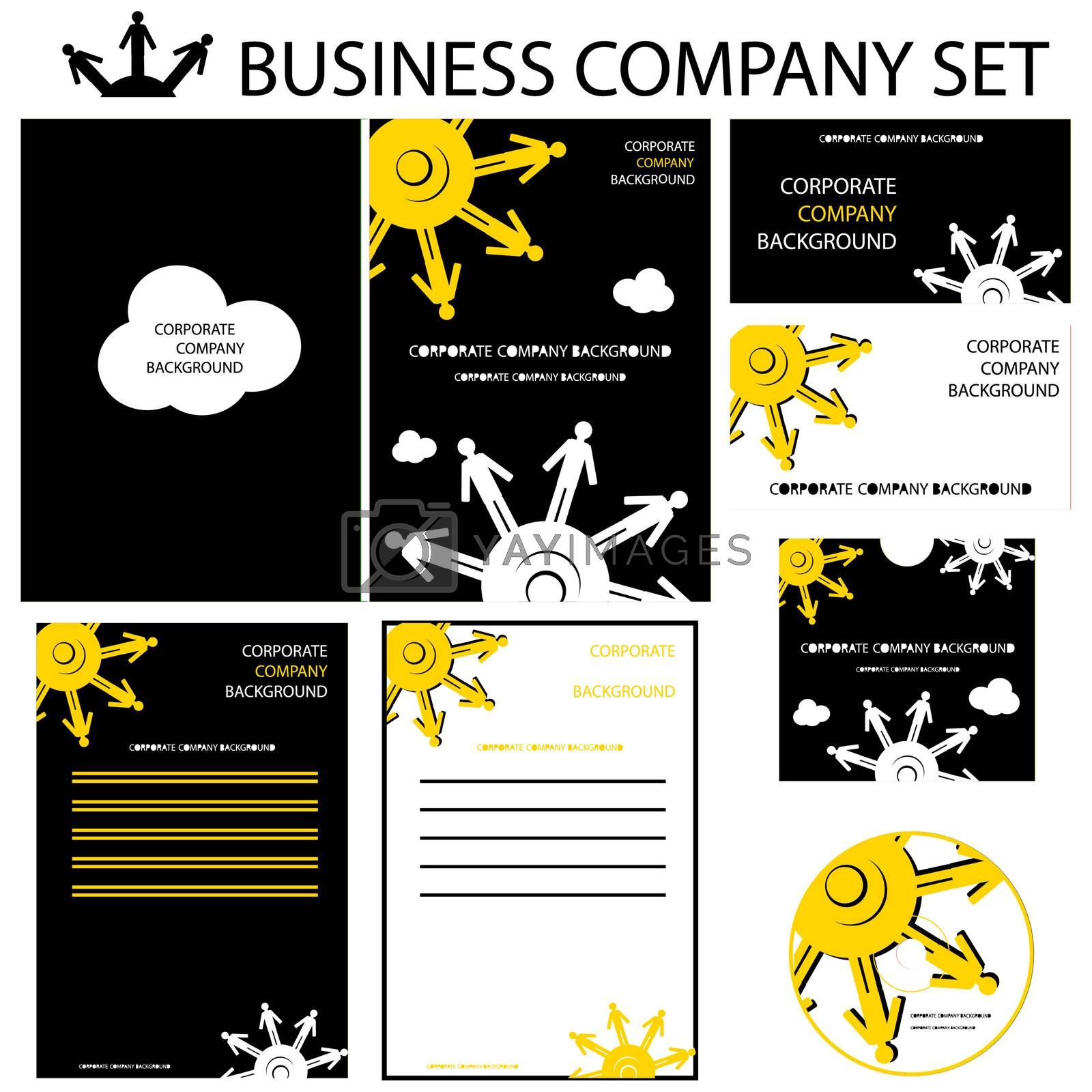 Corporate human presentation, report template. Cogs backgrounds, cover and layout Great for purposes, proposals.