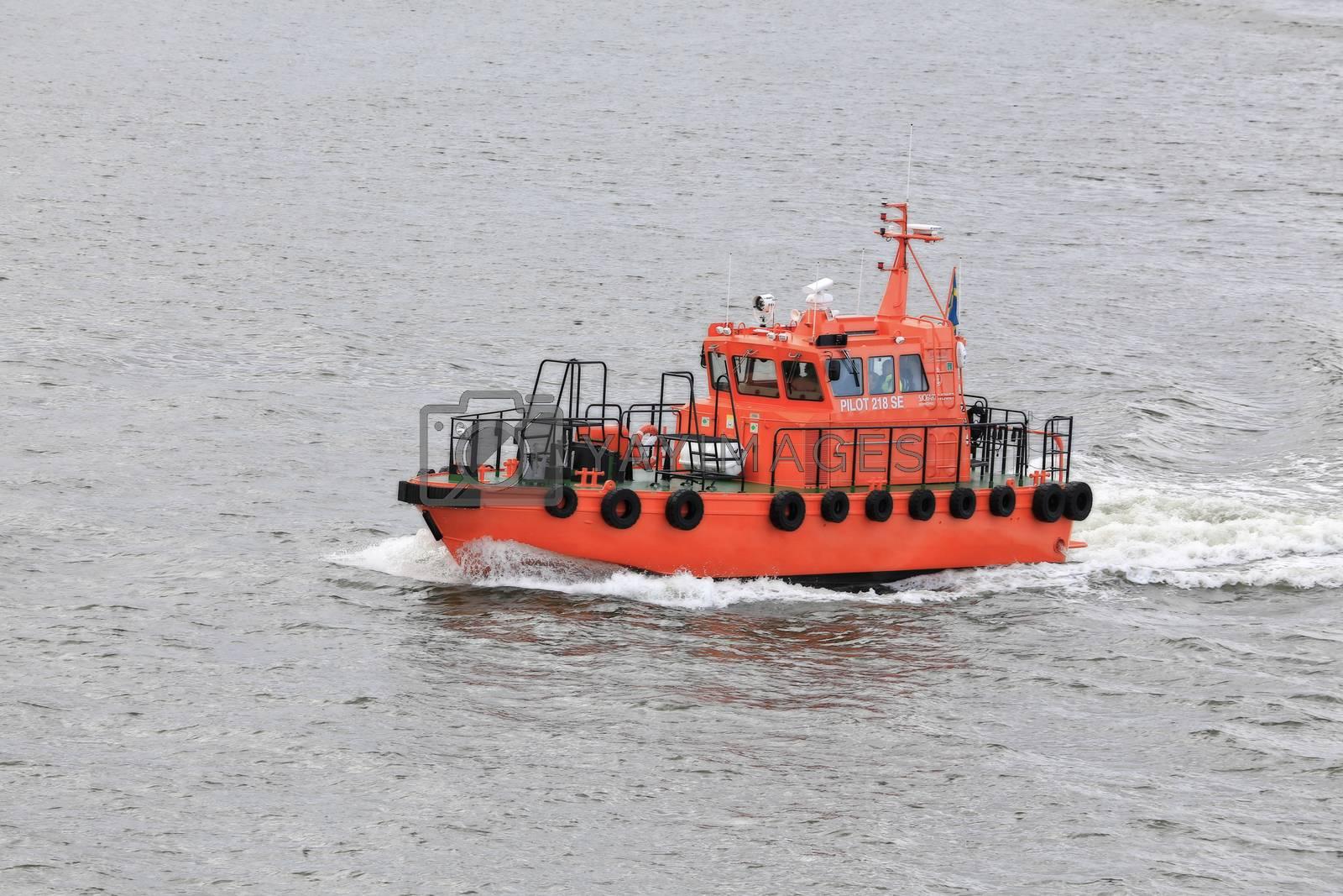 Losbåt Gøteborg havn