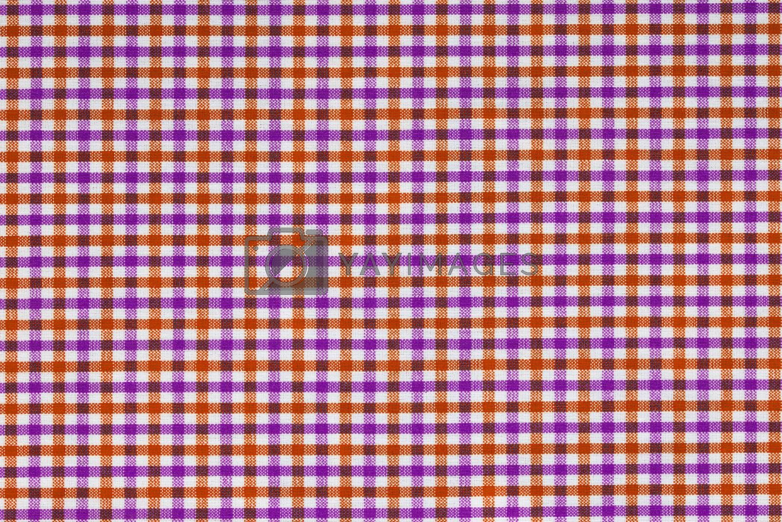 Material into grid, a background or texture
