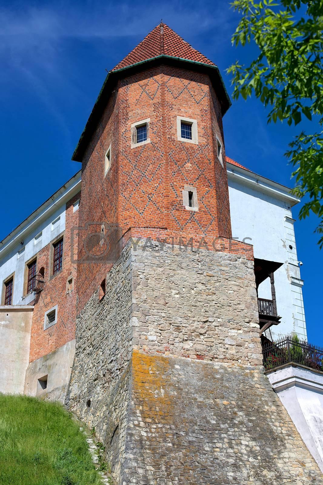 Royal Castle in Sandomierz in Poland