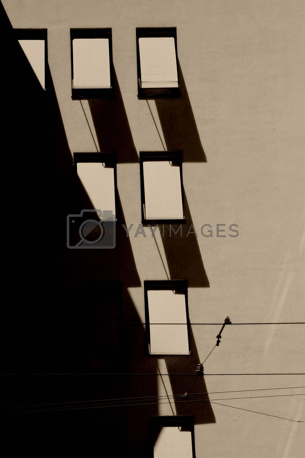 Royalty free image of Abstract window blinds by ginton