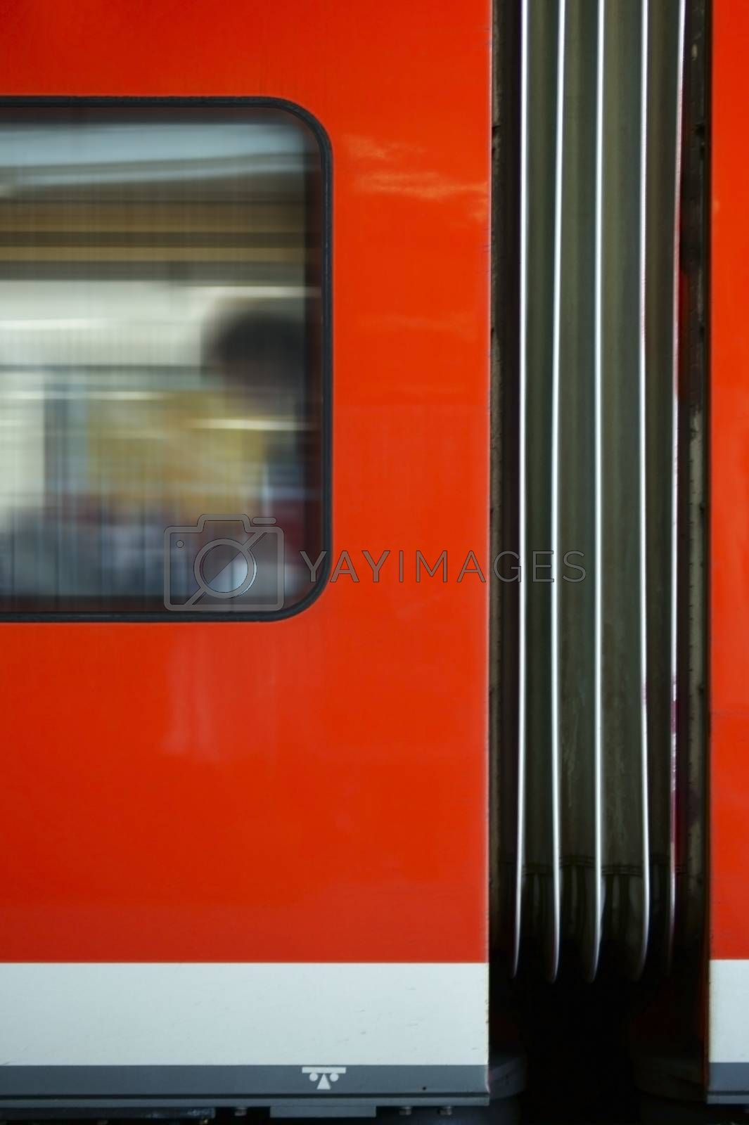 Royalty free image of Train outside body by ginton