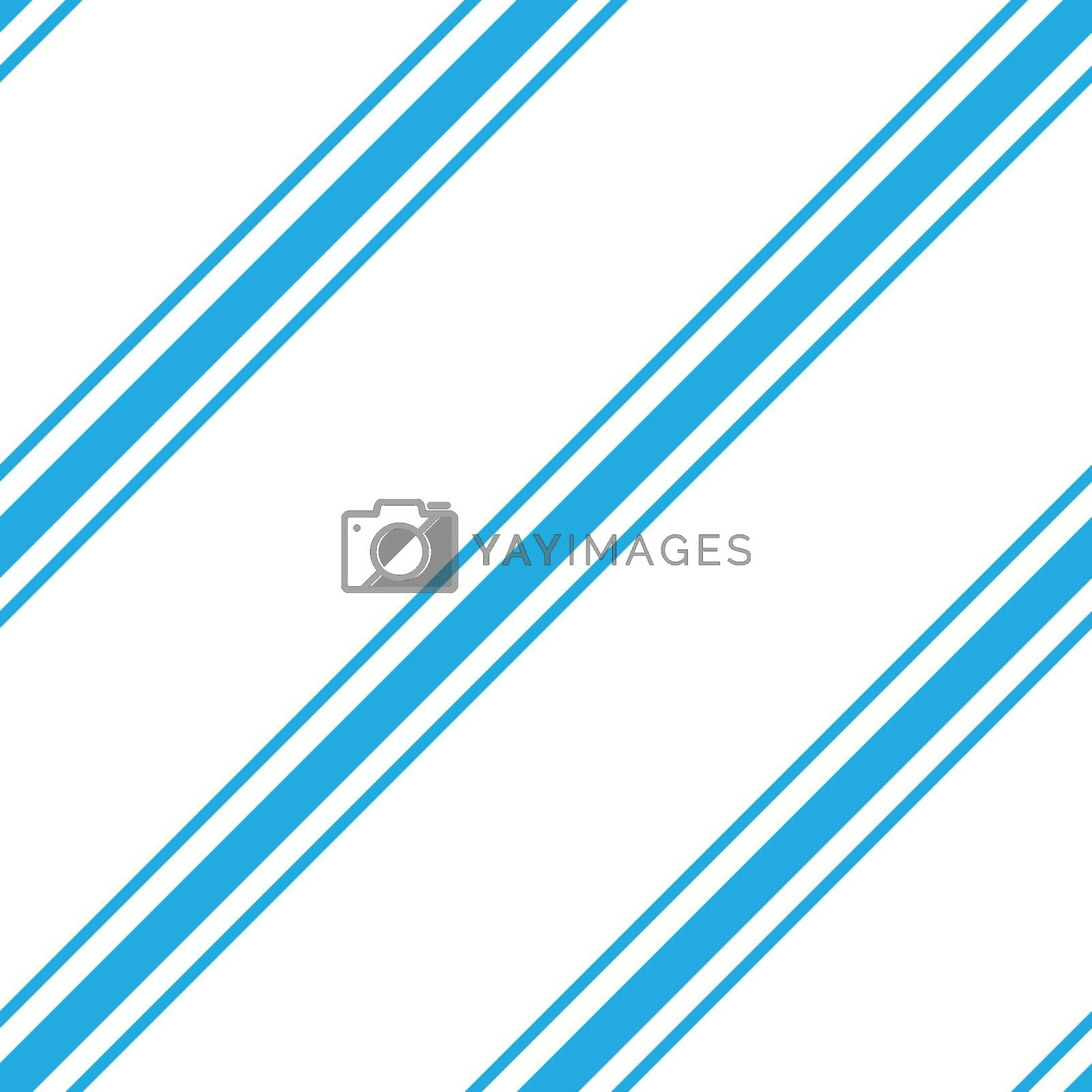 Seamless vector simple wallpaper. The diagonal blue stripes on a white background