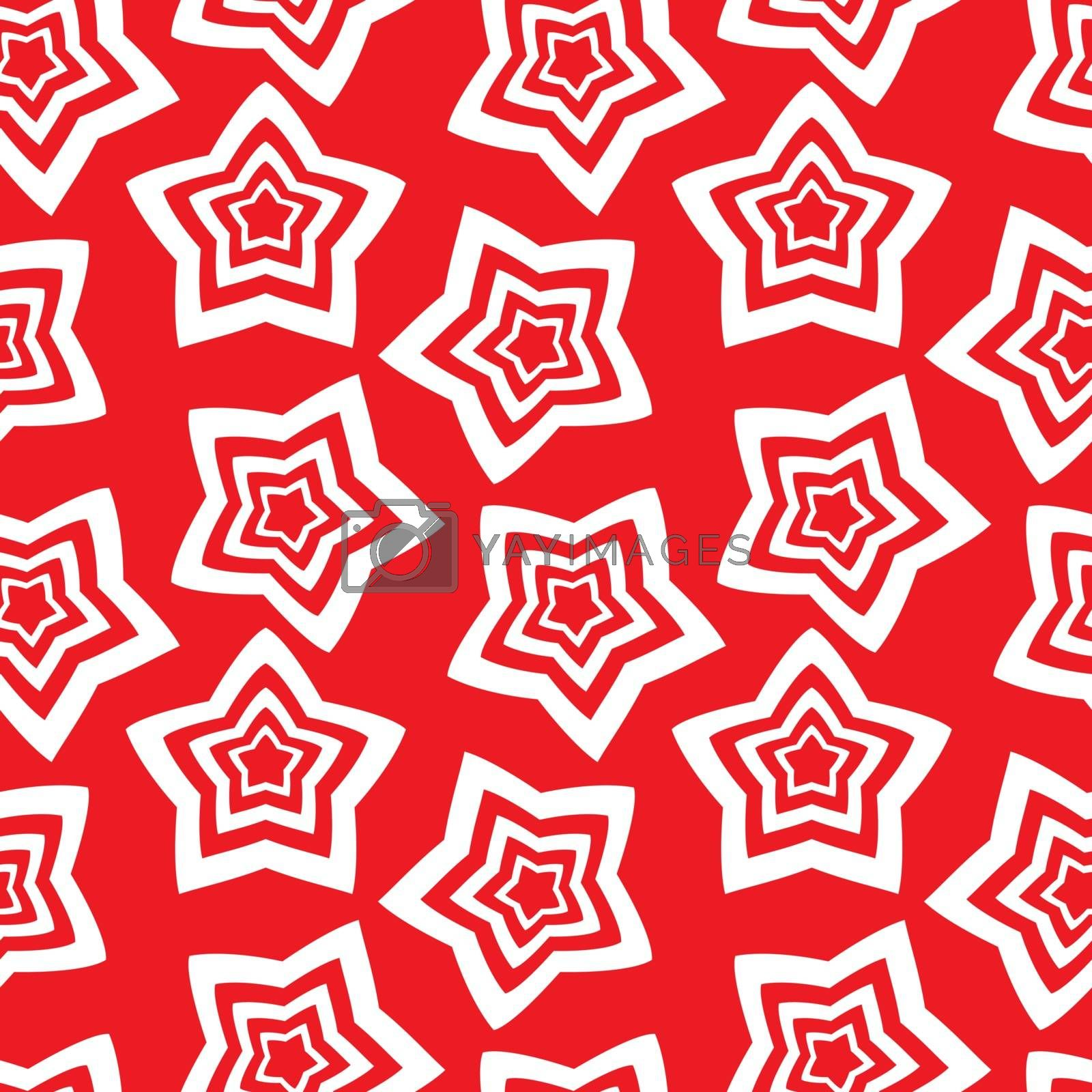 Seamless vector wallpaper. repetitive print with stars