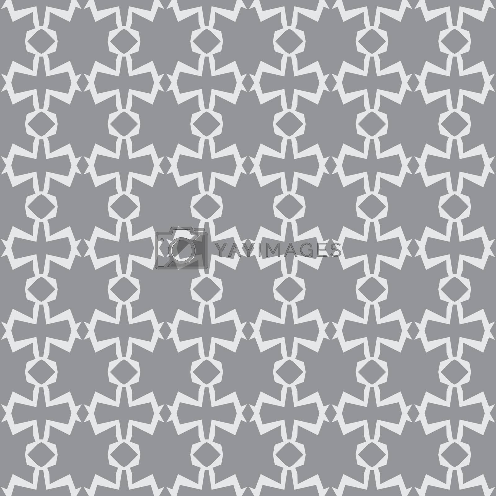 Seamless vector wallpaper. blue geometric repetitive print