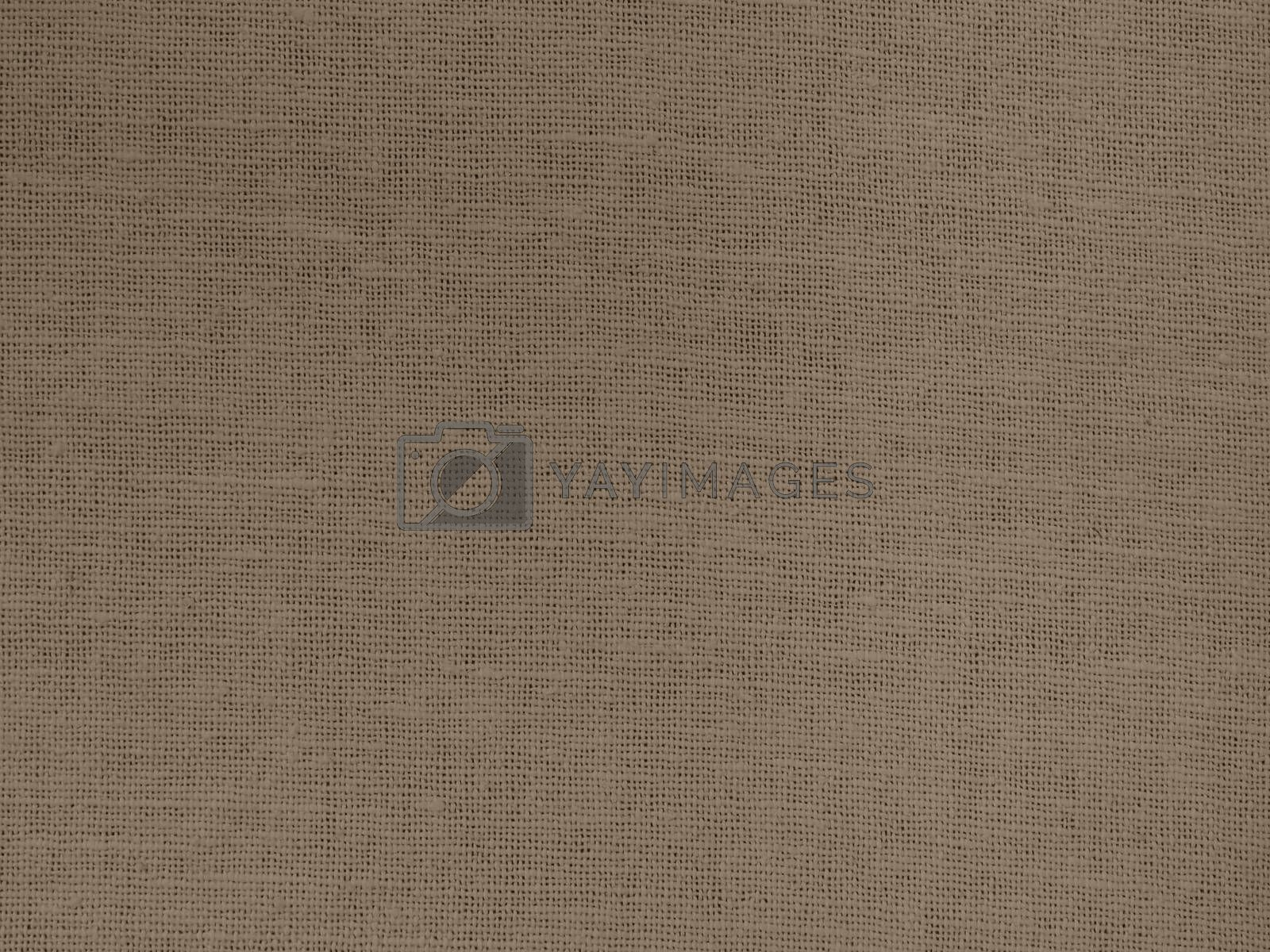 Brown cotton cloth to use as a background.