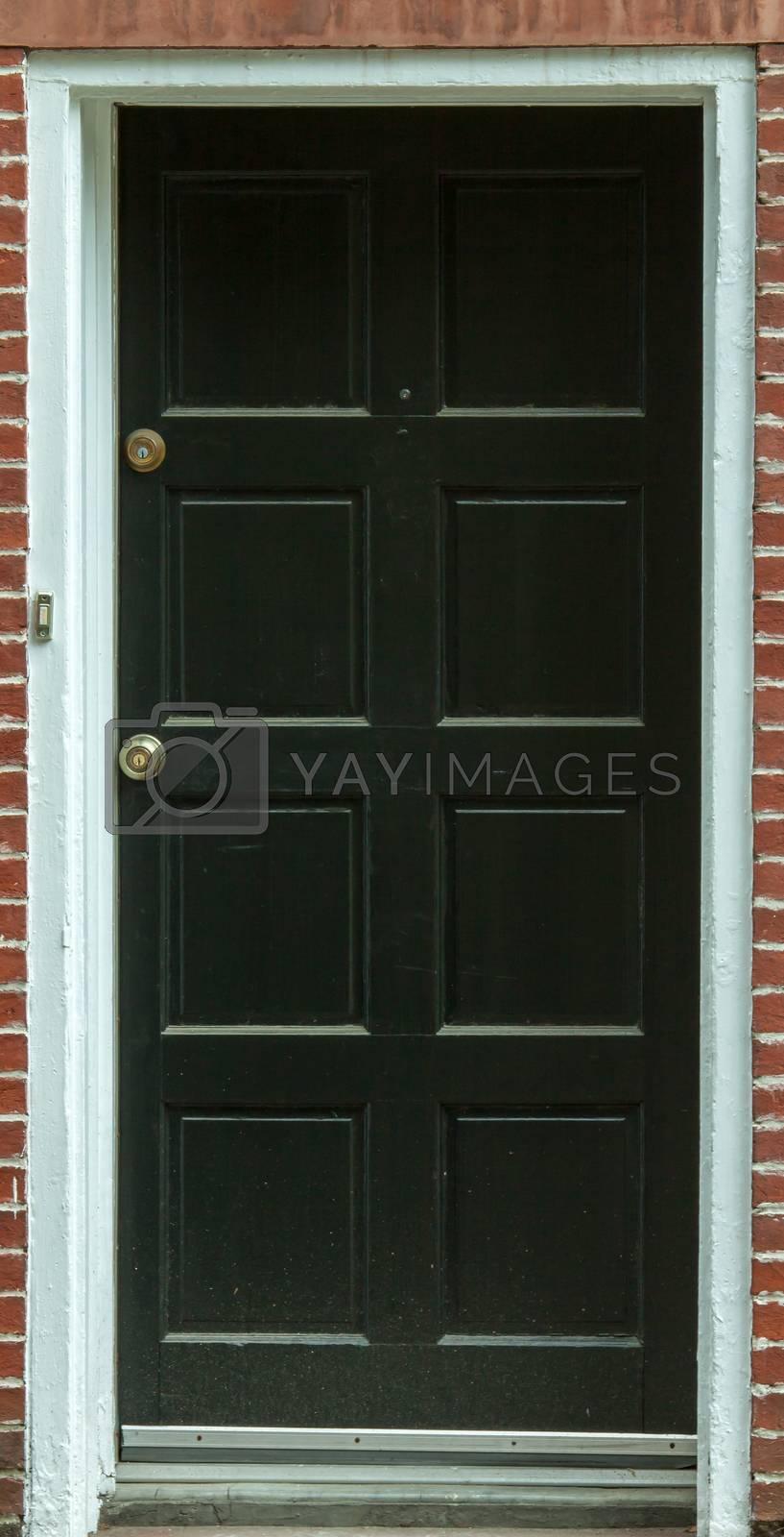 entry door black by TravisPhotoWorks