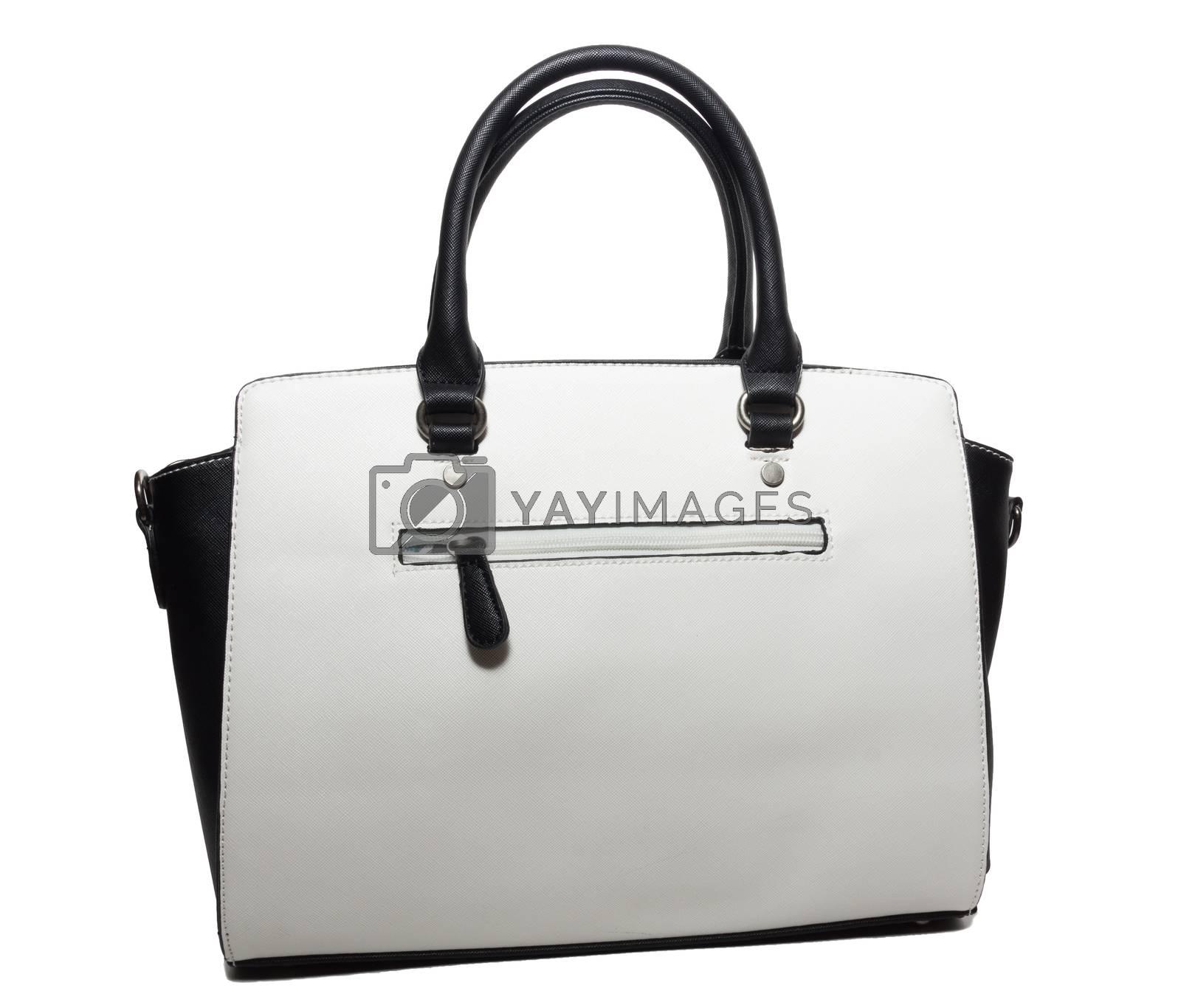 Royalty free image of female handbag on a white background by AlexBush