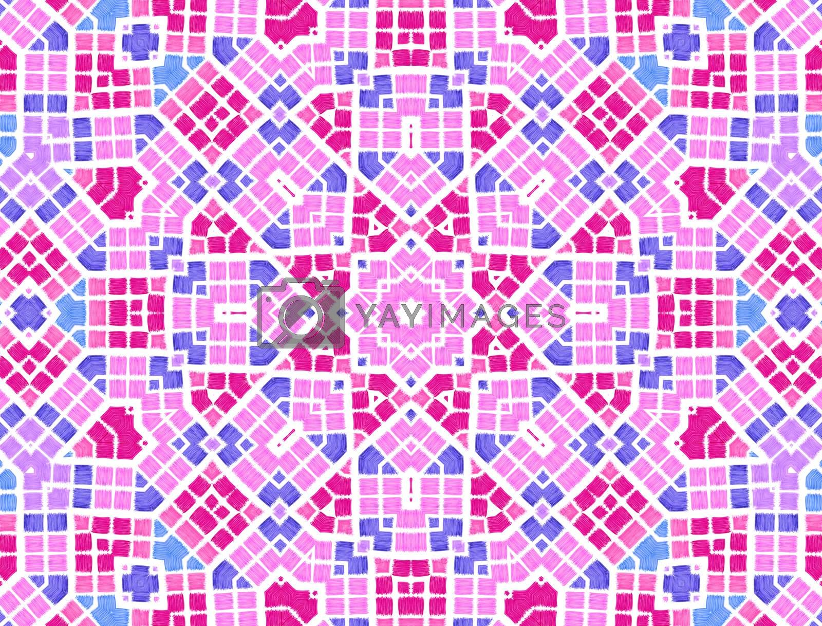 Abstract background with bright color pattern
