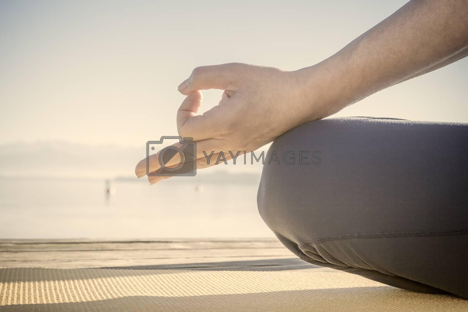 hand meditation by magann