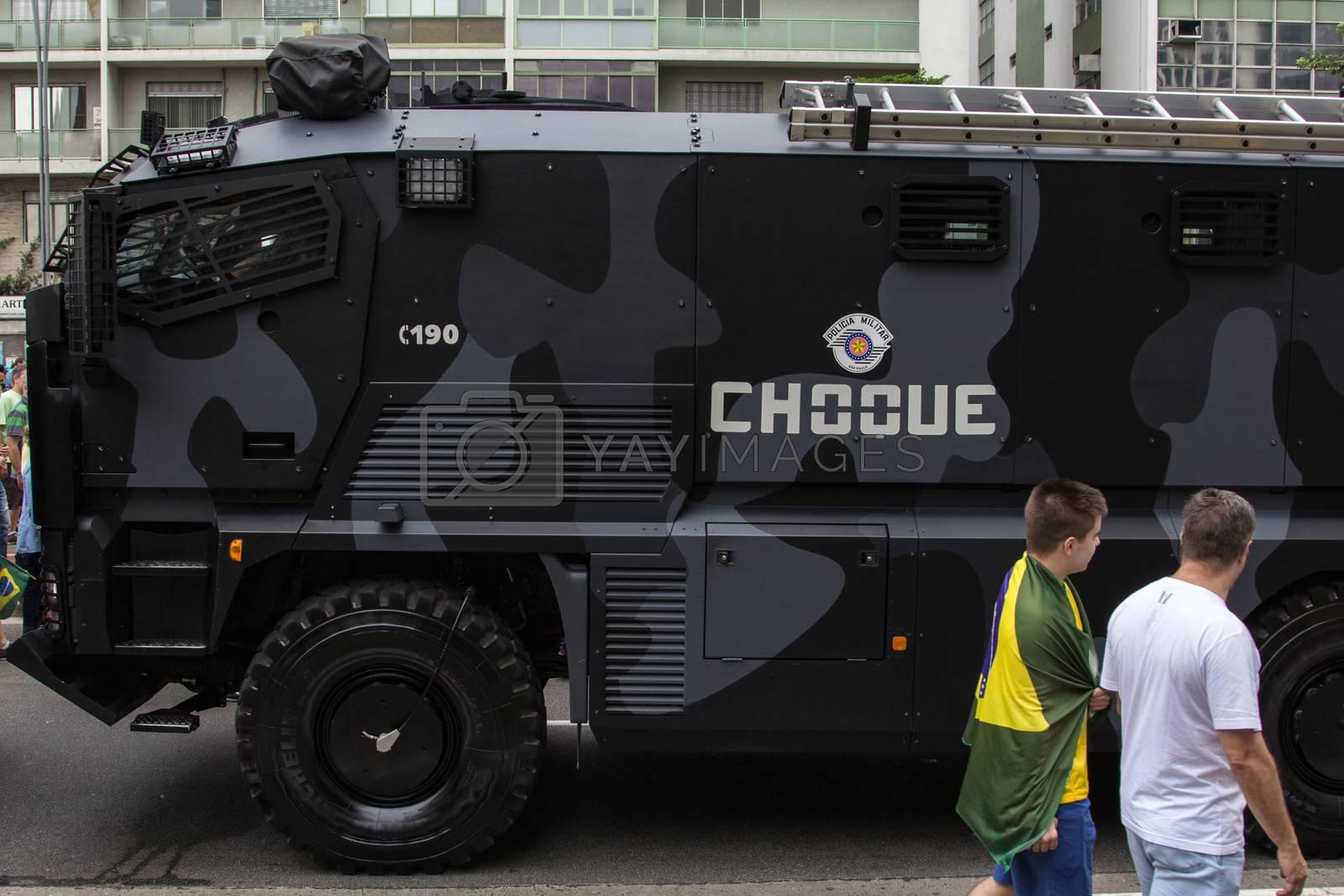 Sao Paulo Brazil March 13, 2016: One unidentified boy and an uni