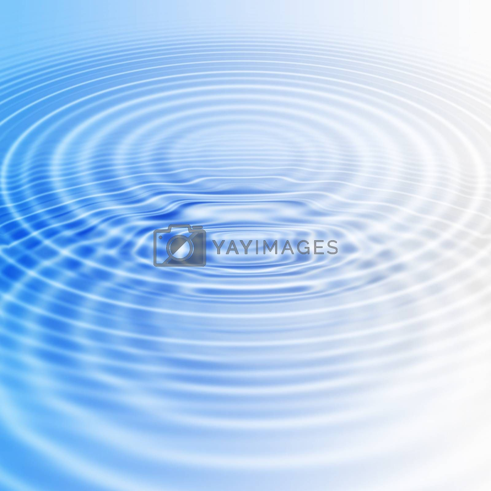 Abstract background with water ripples