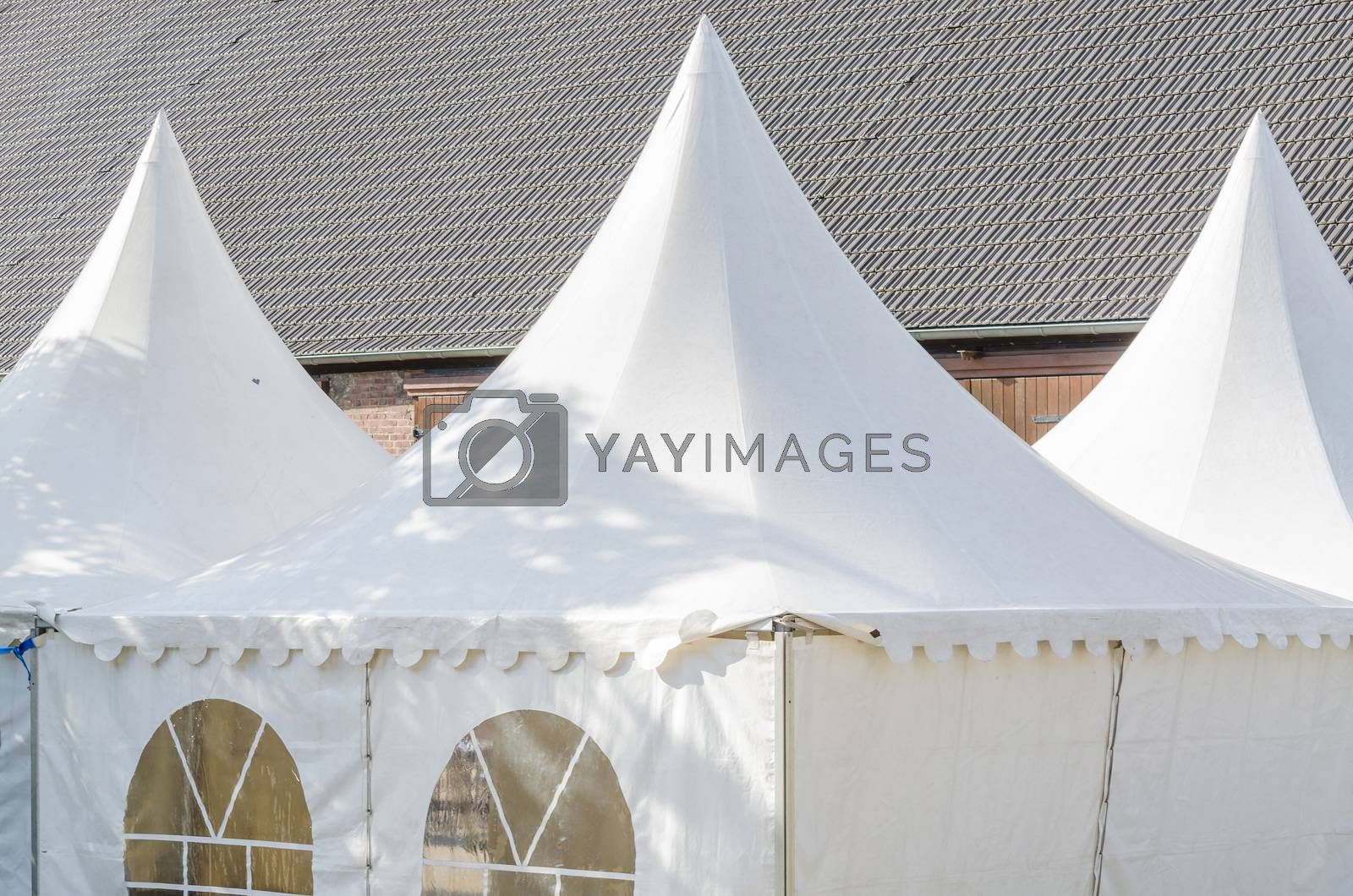 Pagoda tent gladly accepted by the elegant design for parties and party and open-air events.