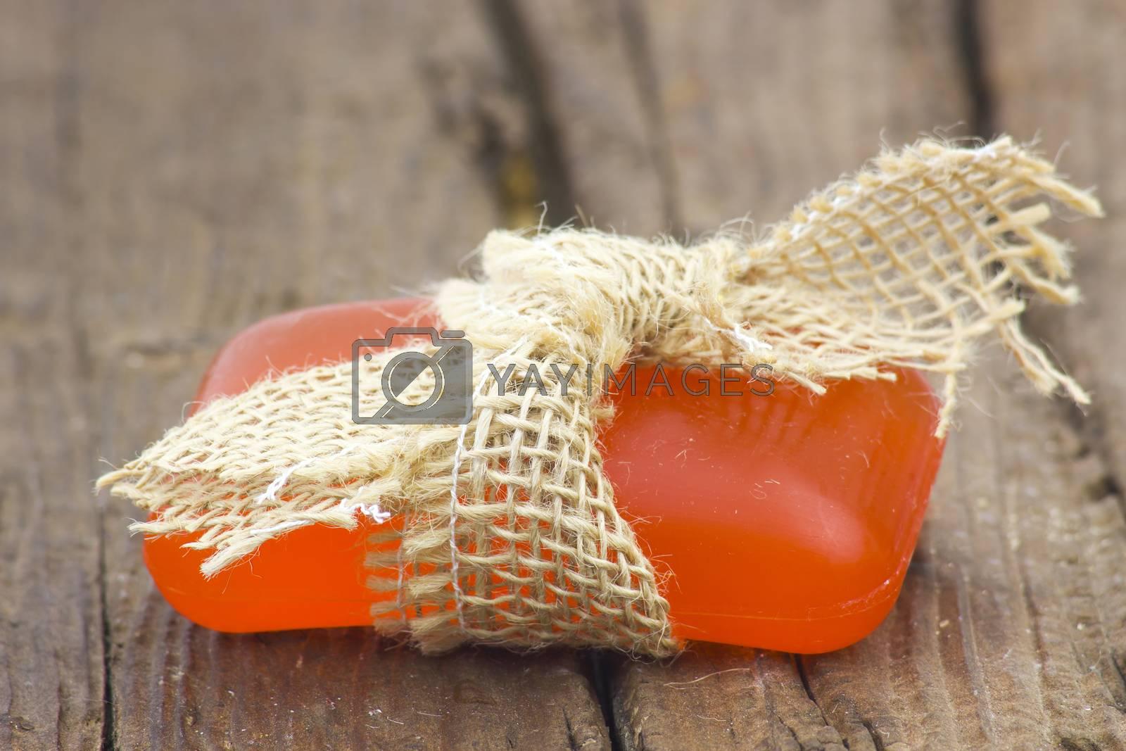 bar of glycerine soap - body care