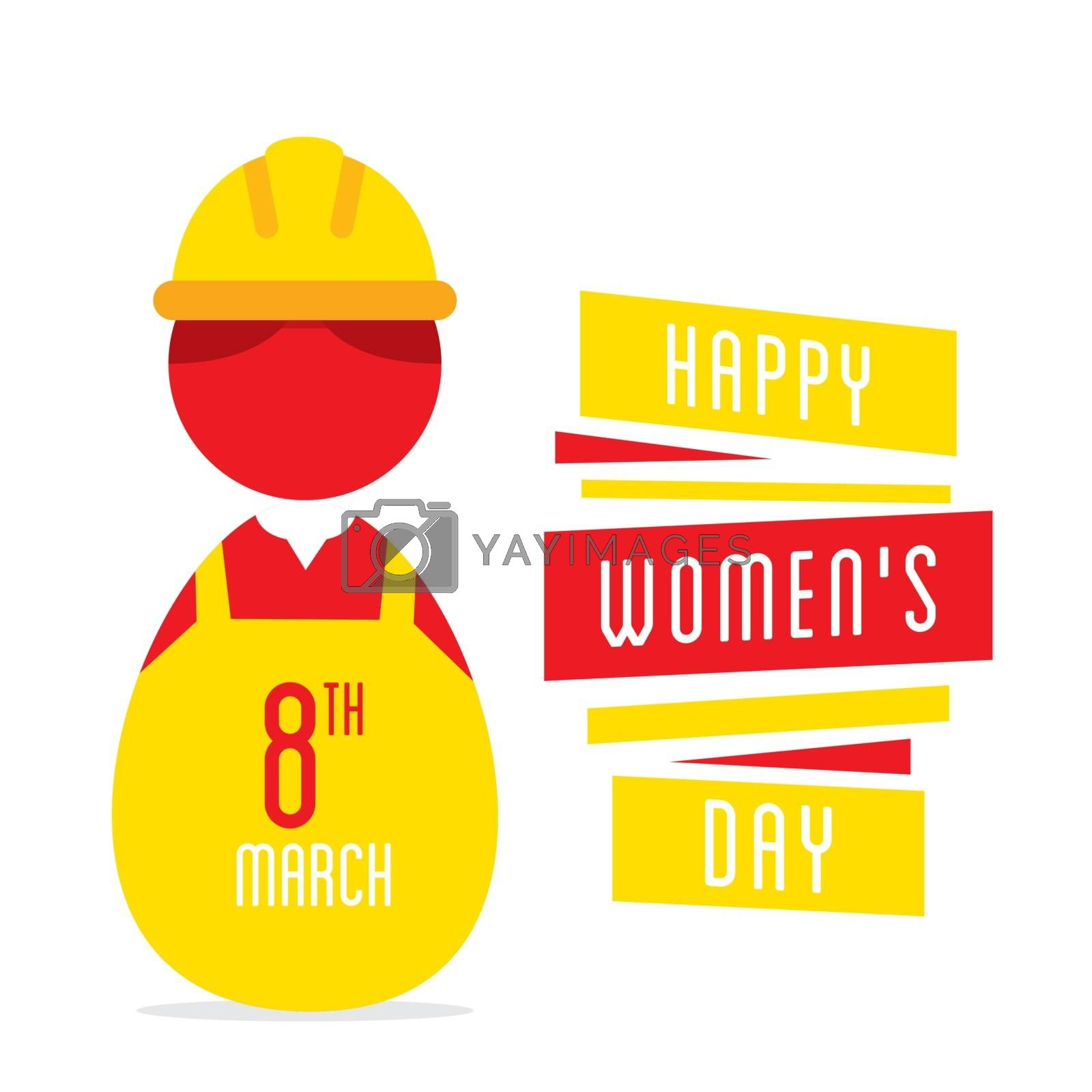 happy womens day, women working as engineer design
