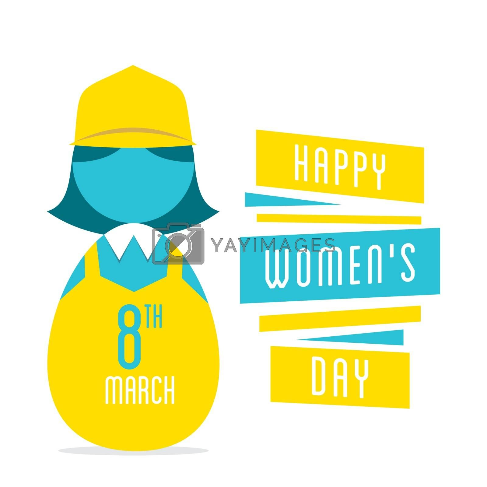 happy womens day, women  profession design