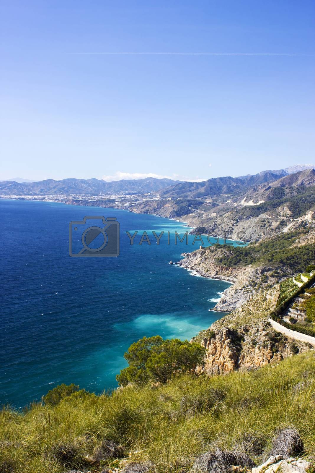 Landscape of Andalusia in Spain